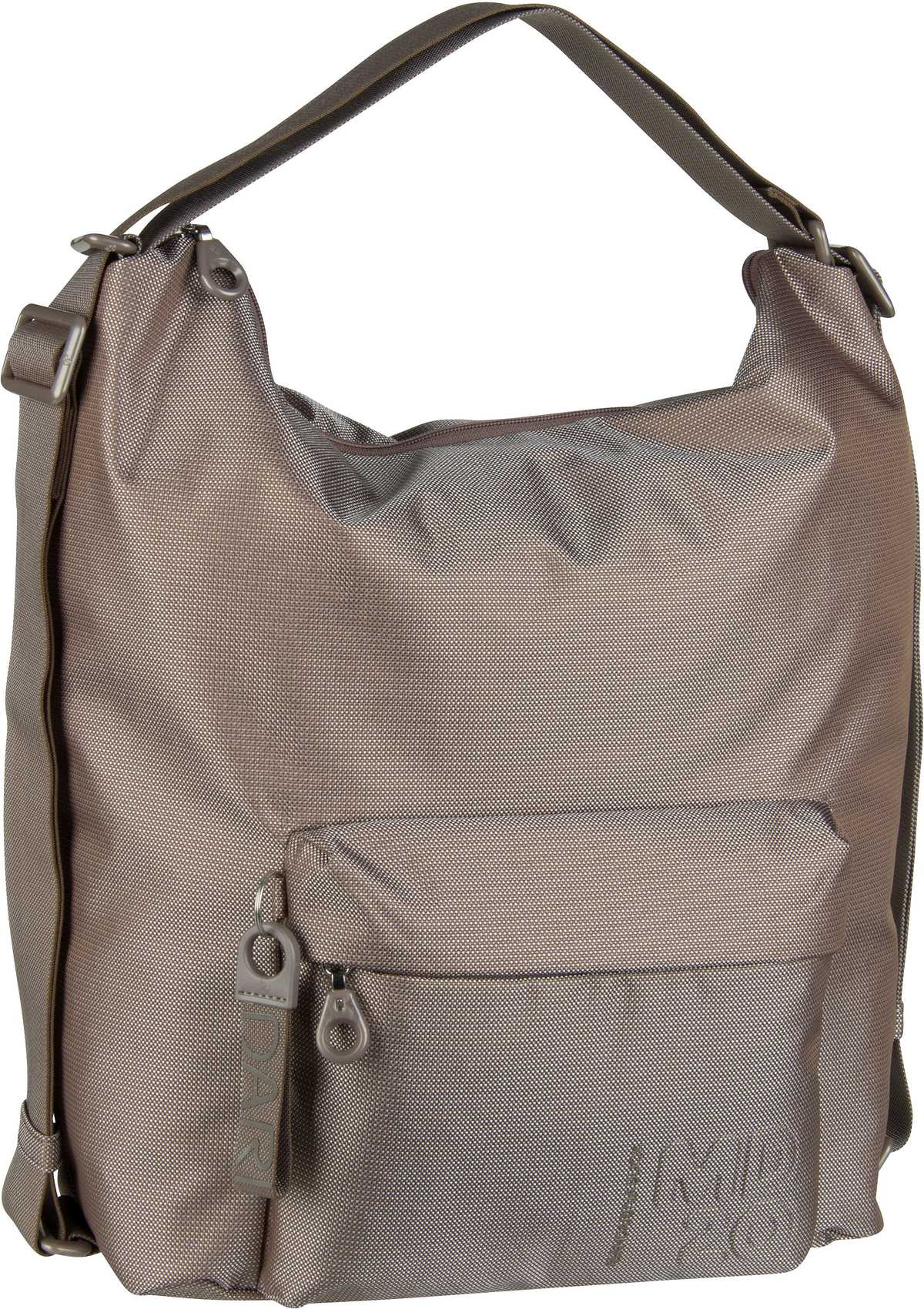 Handtasche MD20 Hobo Backpack QMT09 Taupe