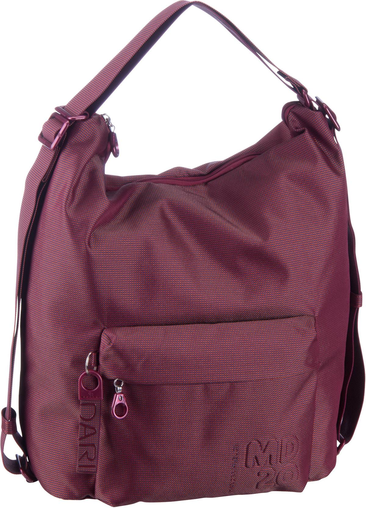 Handtasche MD20 Hobo Backpack QMT09 Cabernet