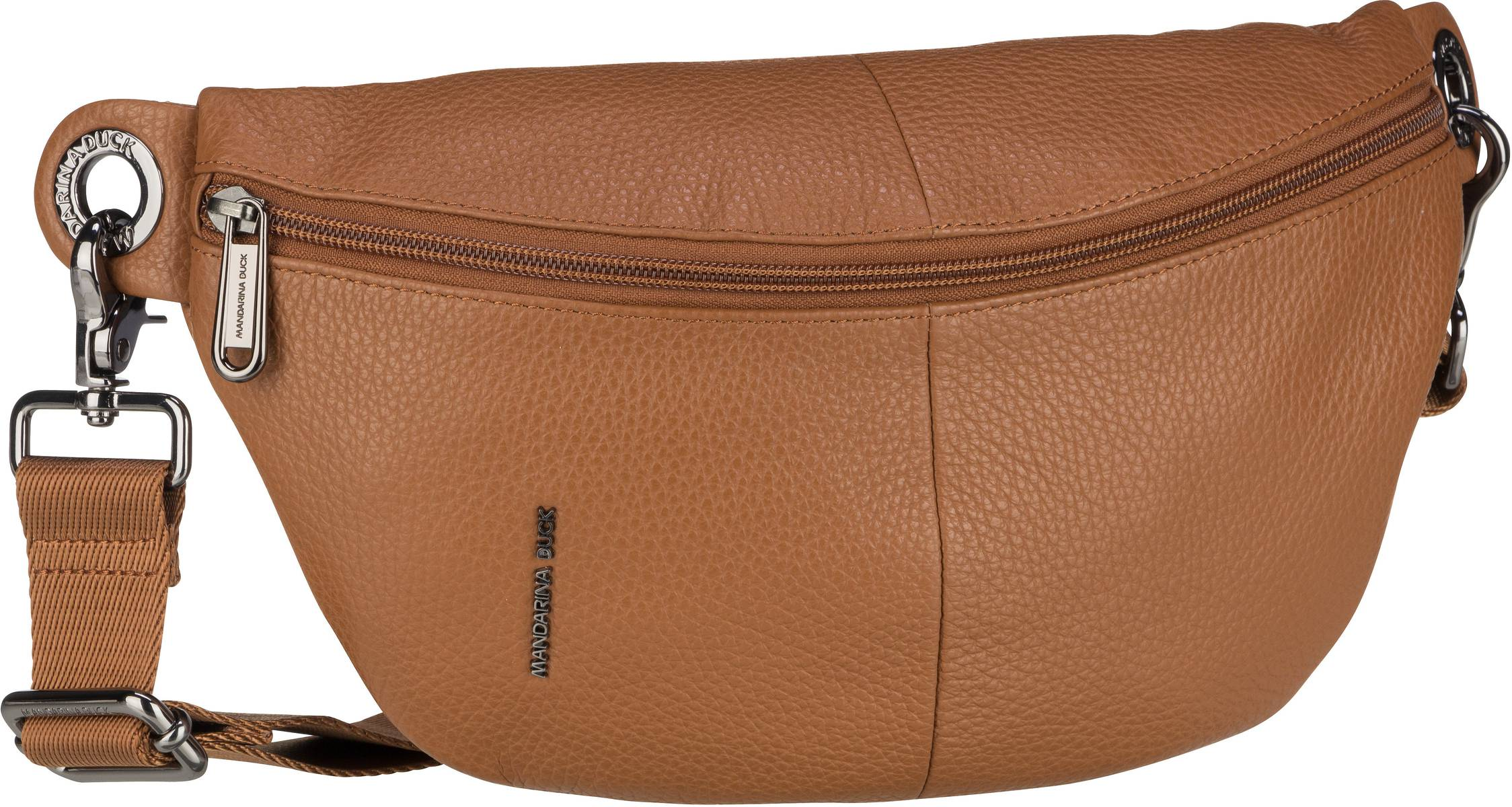 mandarina duck -  Gürteltasche Mellow Leather Bum Bag FZT73 Indian Tan
