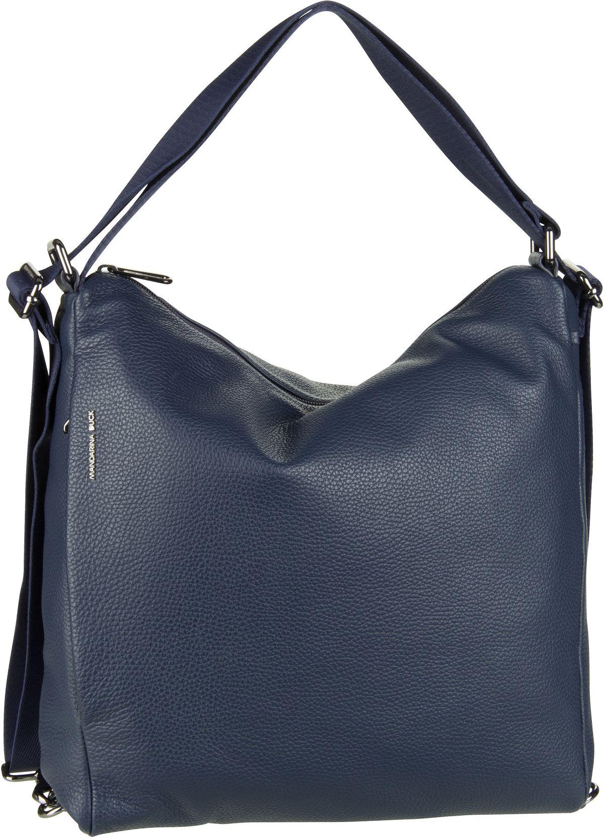 Handtasche Mellow Leather Hobo Backpack FZT72 Dress Blue