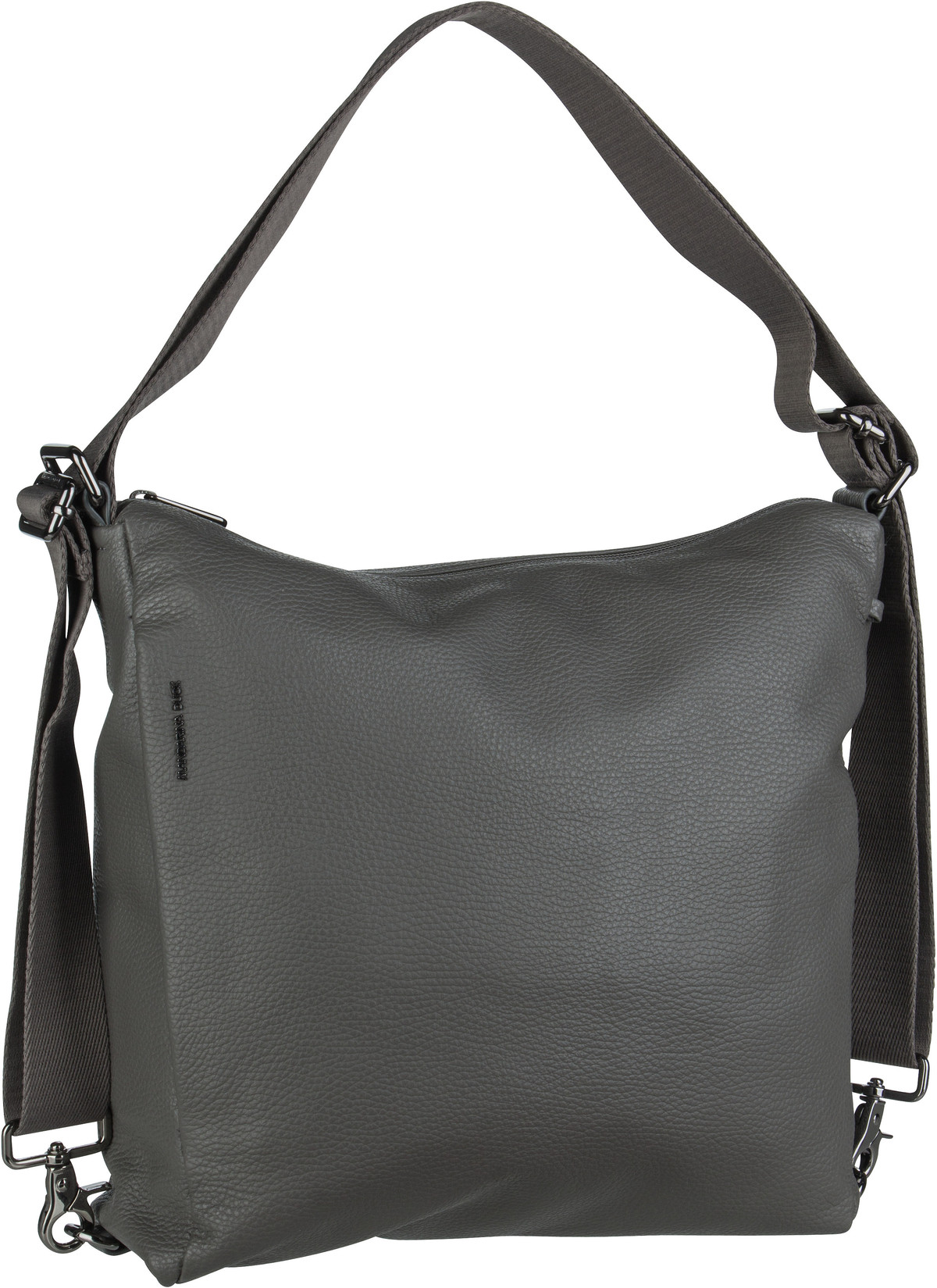 Handtasche Mellow Leather Hobo Backpack FZT72 Smoked Pearl