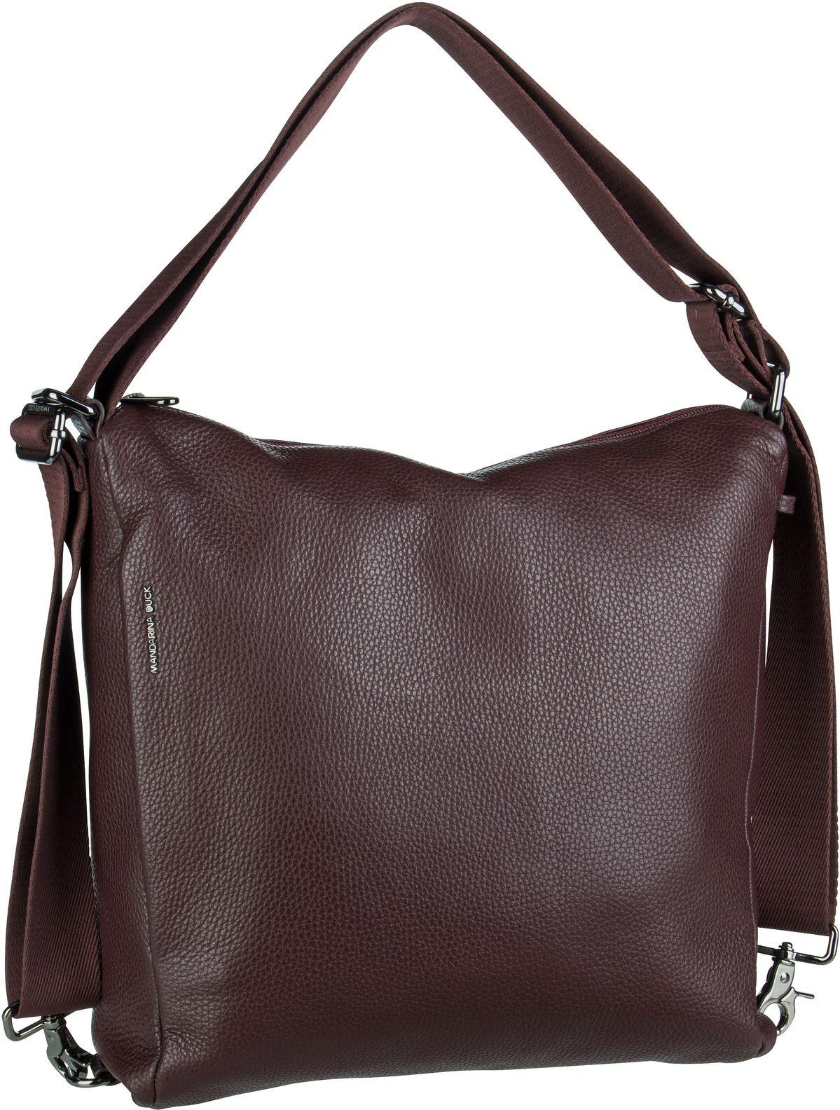 Handtasche Mellow Leather Hobo Backpack FZT72 Vineyard Wine