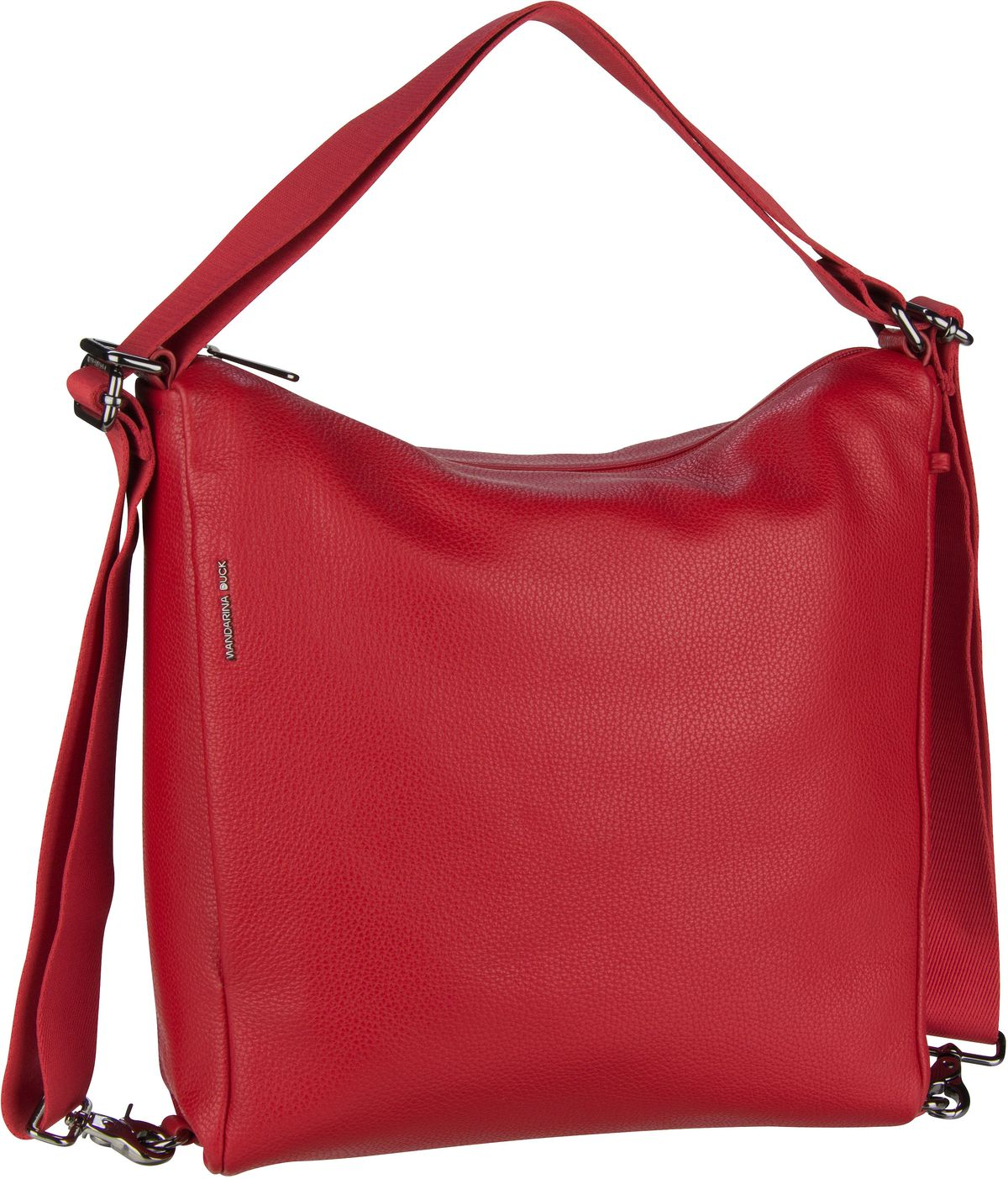 Handtasche Mellow Leather Hobo Backpack FZT72 Flame Scarlet