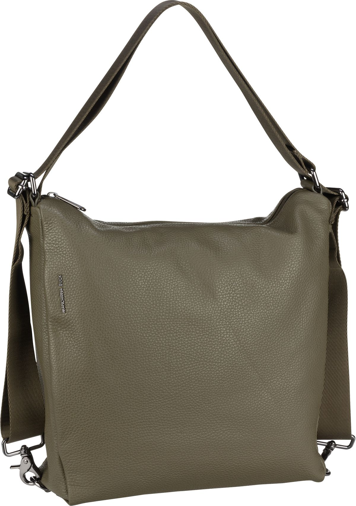 Handtasche Mellow Leather Hobo Backpack FZT72 Military Olive