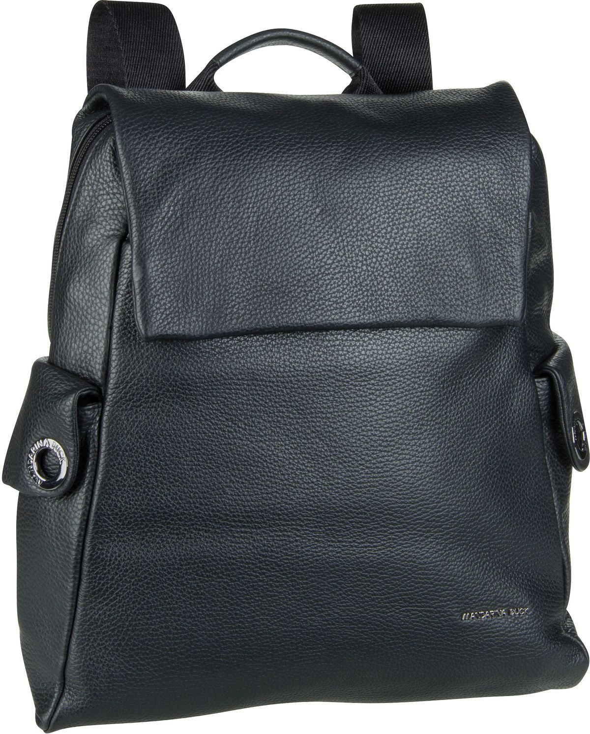 Rucksack / Daypack Mellow Leather Backpack FZT92 Nero