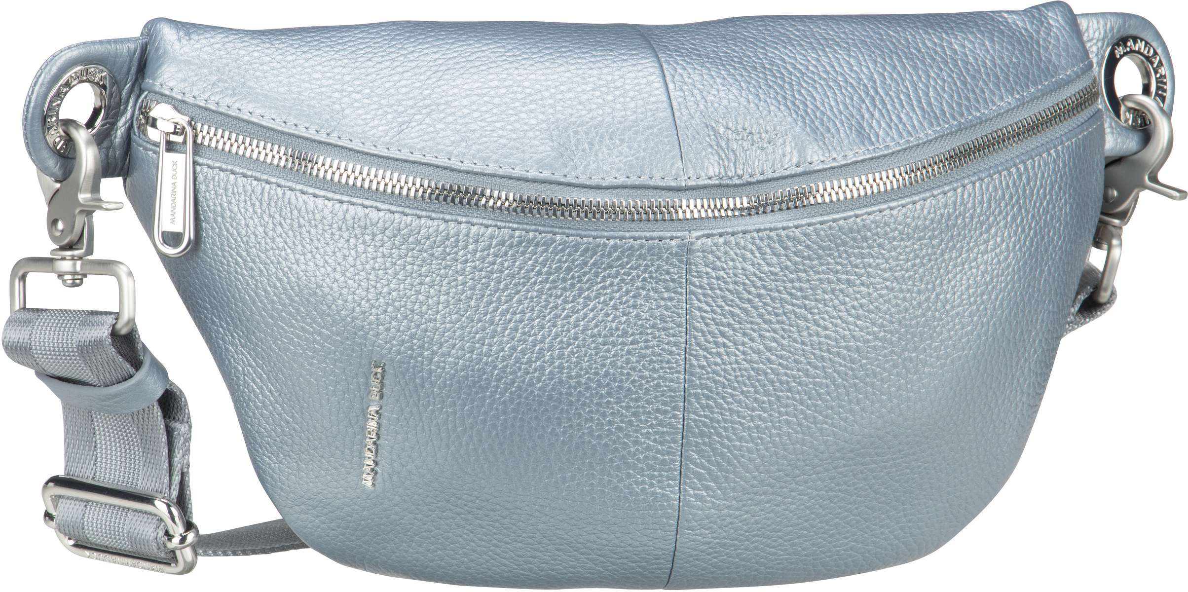 mandarina duck -  Gürteltasche Mellow Leather Lux Bum Bag ZLT73 Titanio