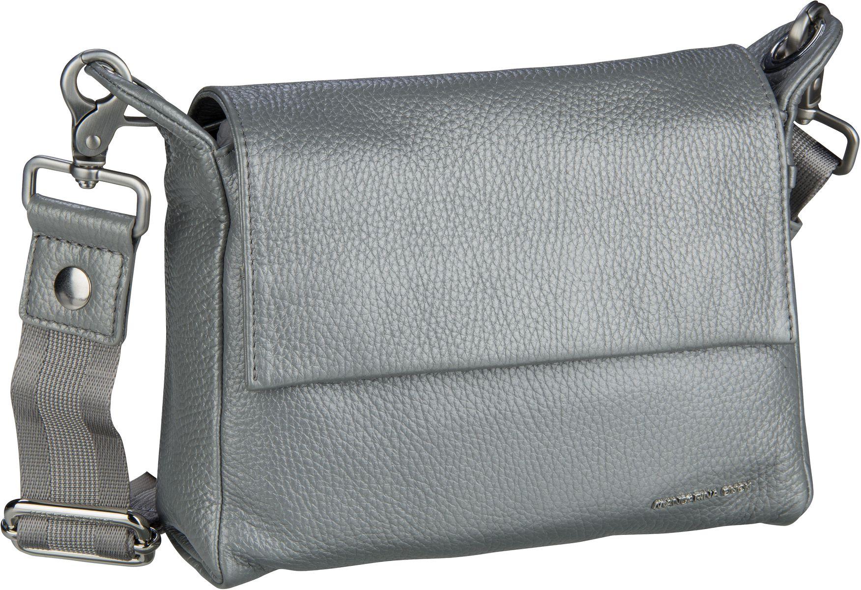Umhängetasche Mellow Leather Lux Crossover ZLT93 Silver