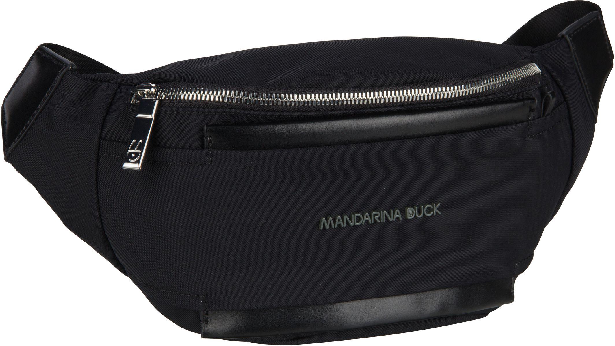 Kleinwaren - Mandarina Duck Gürteltasche Daphne Bum Bag PDT09 Black  - Onlineshop Taschenkaufhaus