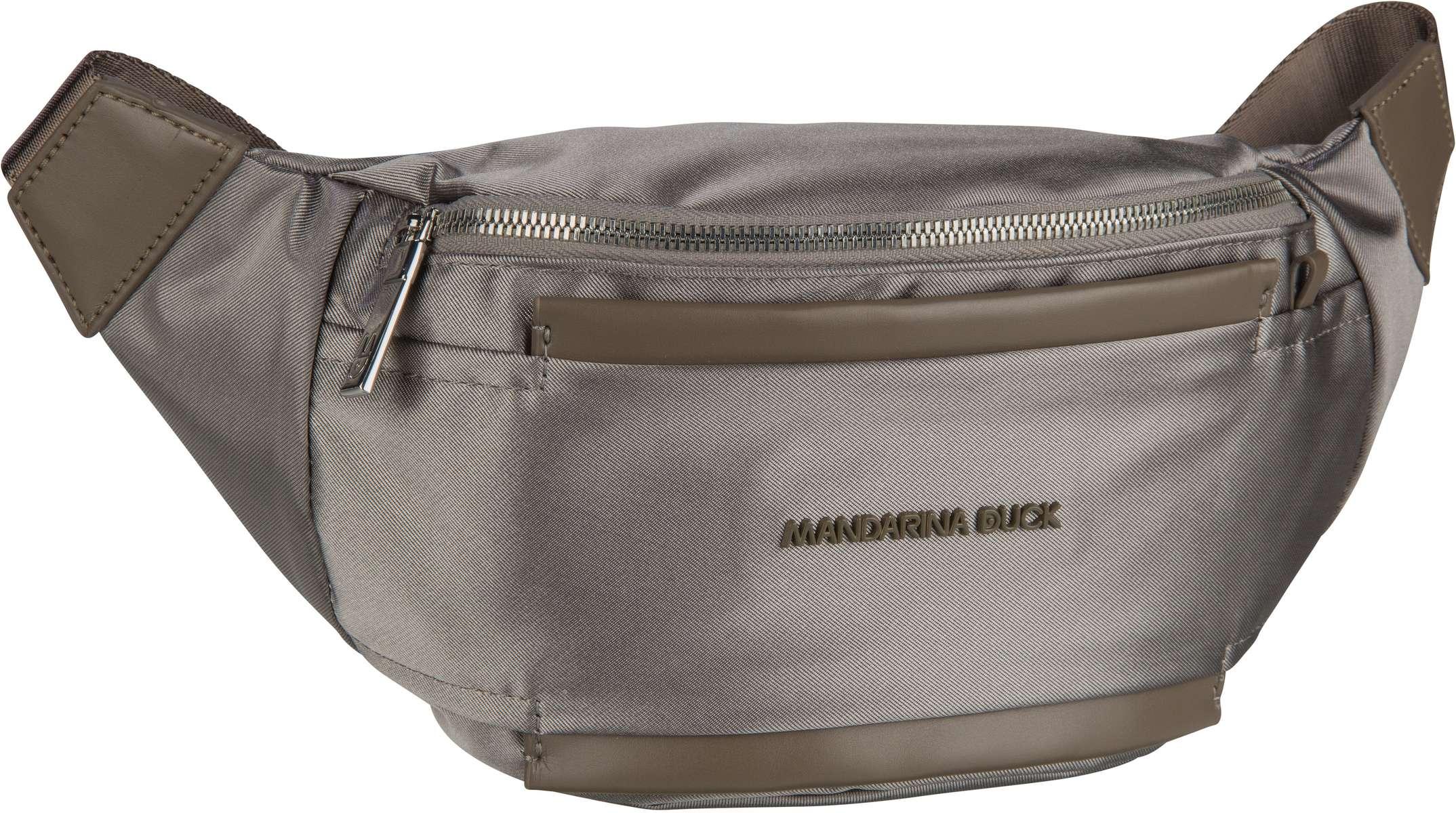 Kleinwaren - Mandarina Duck Gürteltasche Daphne Bum Bag PDT09 Gun Metal  - Onlineshop Taschenkaufhaus