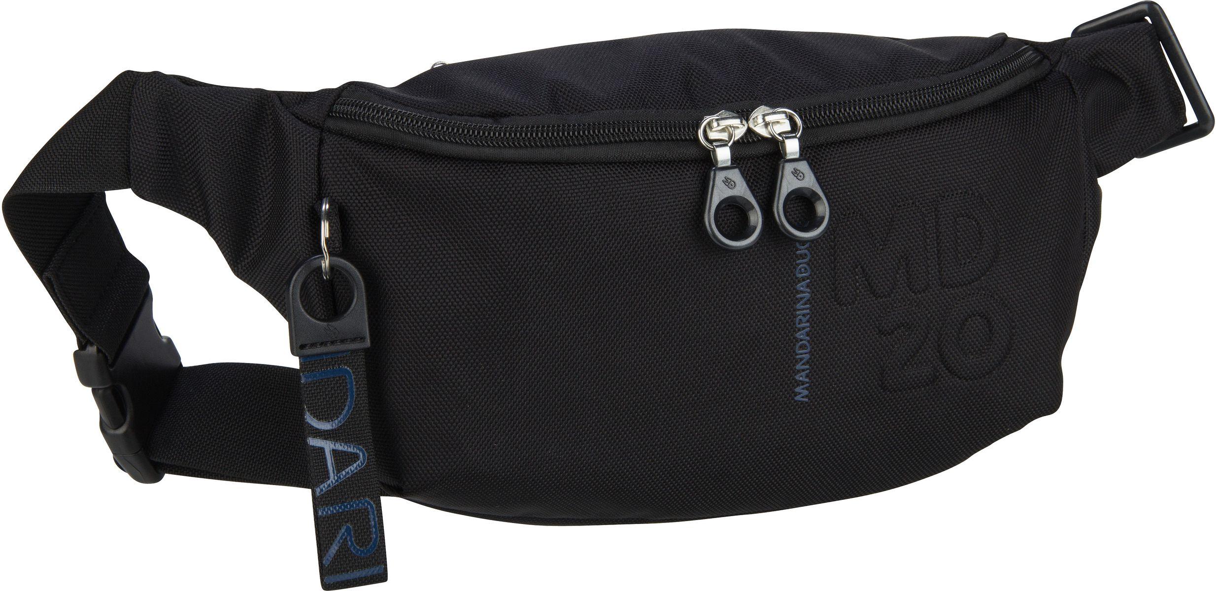 Kleinwaren - Mandarina Duck Gürteltasche MD20 Bum Bag QMMM3 Black  - Onlineshop Taschenkaufhaus