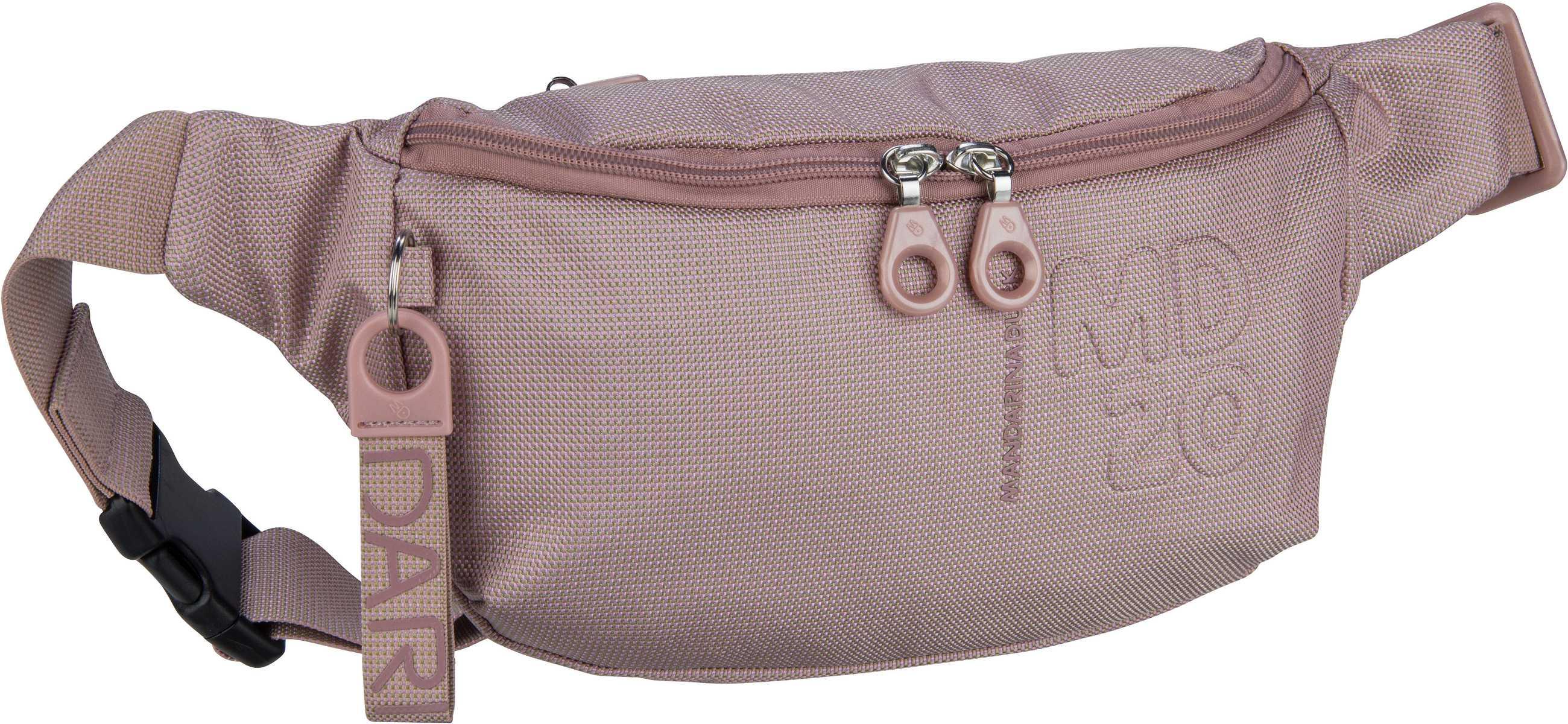 Kleinwaren - Mandarina Duck Gürteltasche MD20 Bum Bag QMMM3 Pale Blush  - Onlineshop Taschenkaufhaus