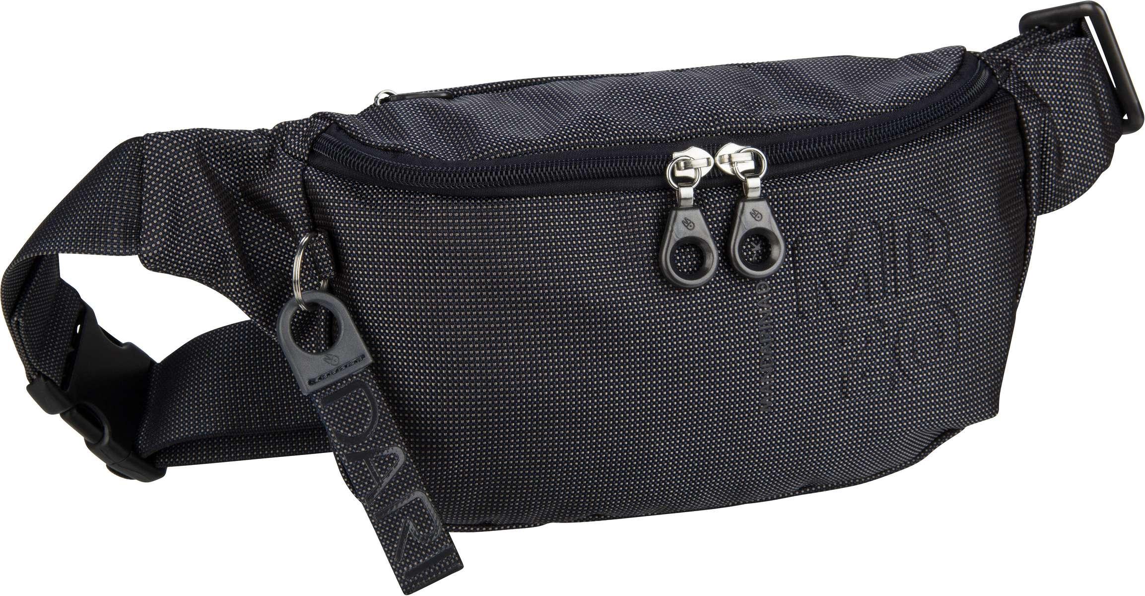 Kleinwaren - Mandarina Duck Gürteltasche MD20 Bum Bag QMMM3 Steel  - Onlineshop Taschenkaufhaus