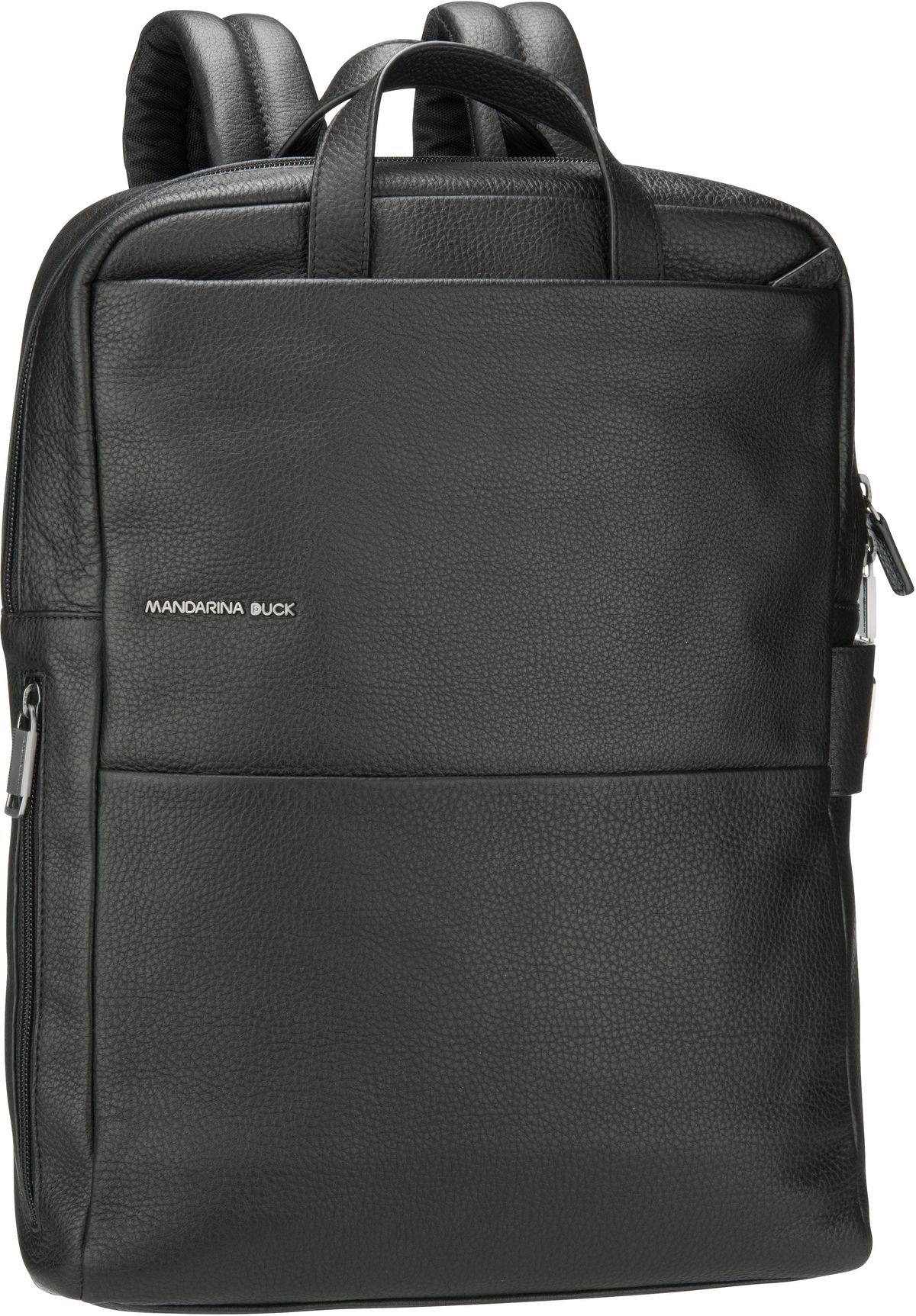 Rucksack / Daypack Detroit Leather Backpack UZT03 Black