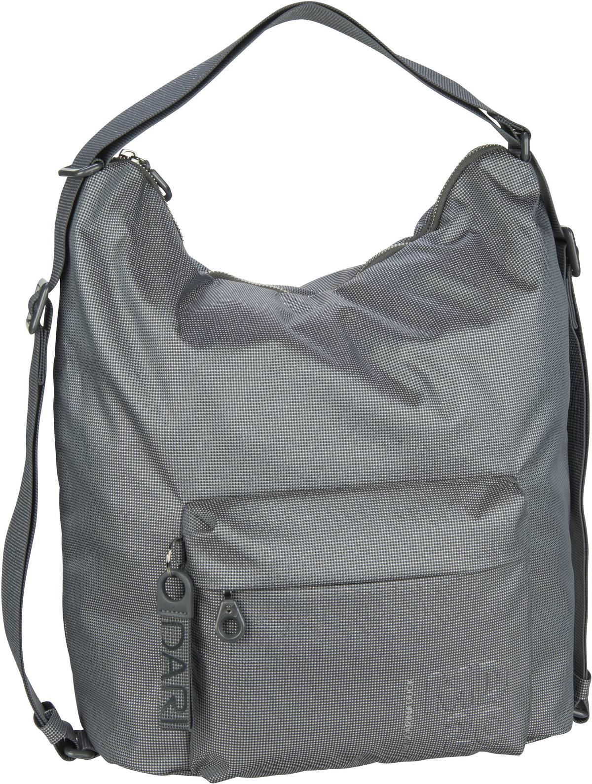 Beuteltasche MD20 Lux Hobo Backpack QNT09 Gun Metal