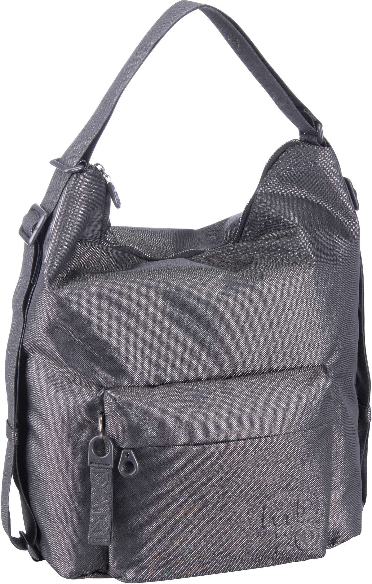 Beuteltasche MD20 Lux Hobo Backpack QNT09 Lead