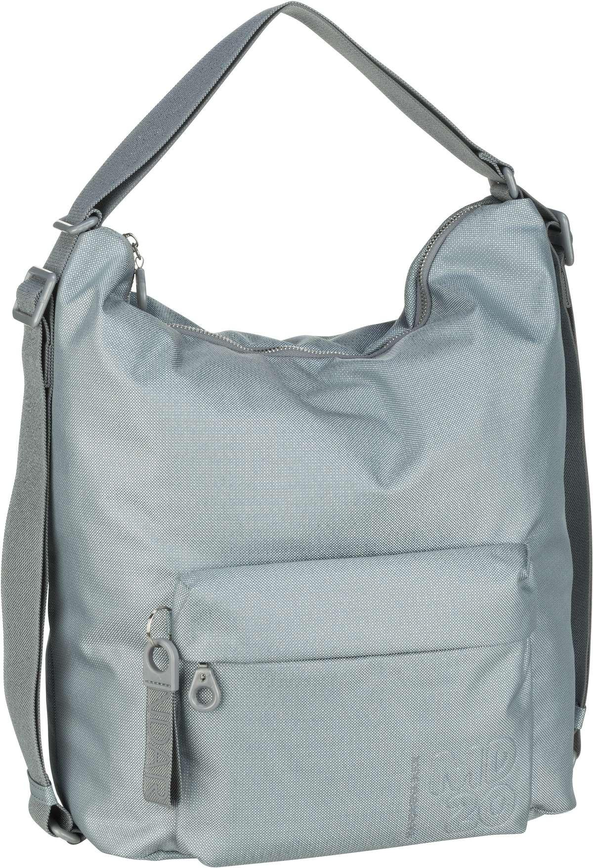 mandarina duck -  Beuteltasche MD20 Lux Hobo Backpack QNT09 Titanio