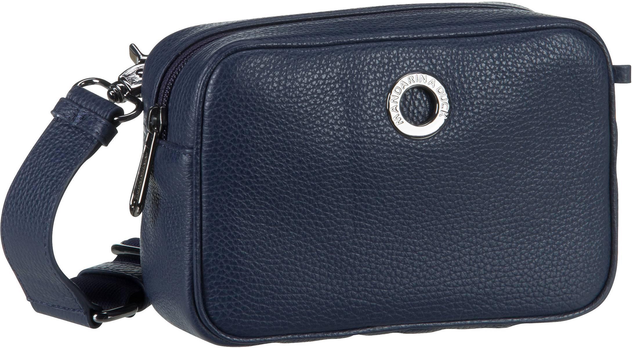 Umhängetasche Mellow Leather Camera Bag FZT22 Dress Blue