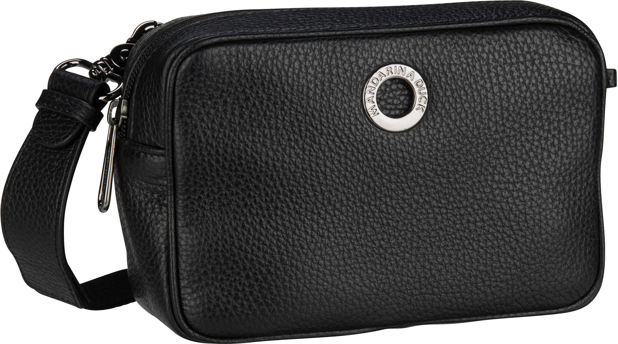 Umhängetasche Mellow Leather Camera Bag FZT22 Nero