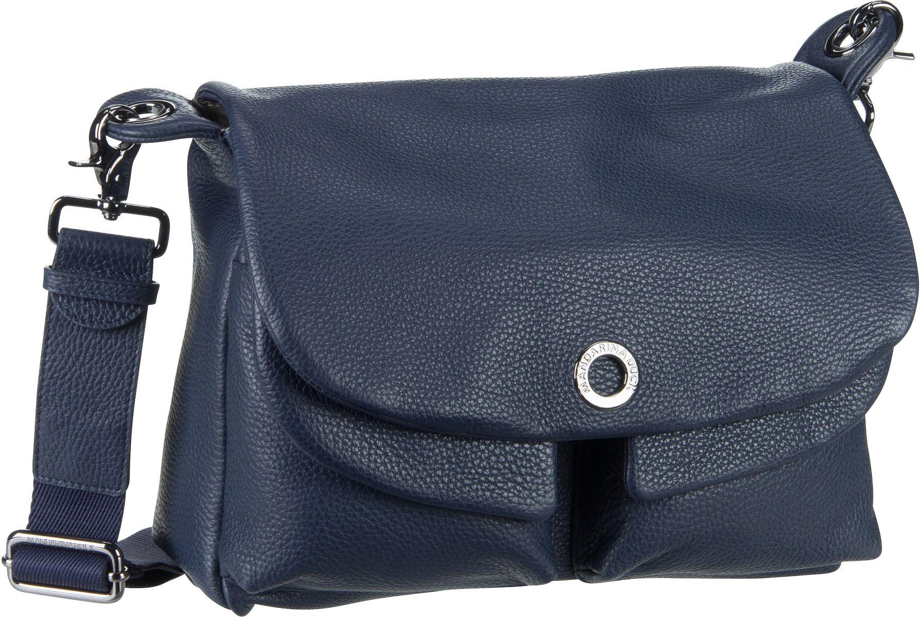 Umhängetasche Mellow Leather Shoulder Bag FZT23 Dress Blue