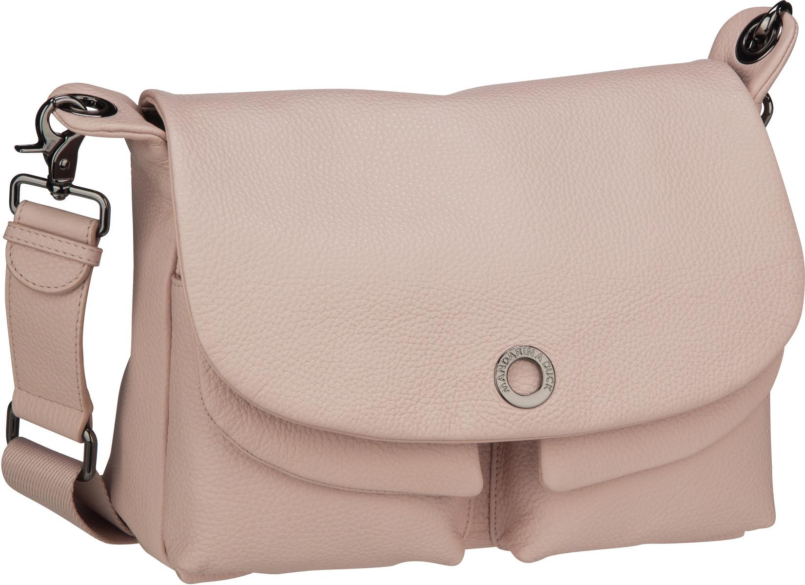 Umhängetasche Mellow Leather Shoulder Bag FZT23 Rose Metal