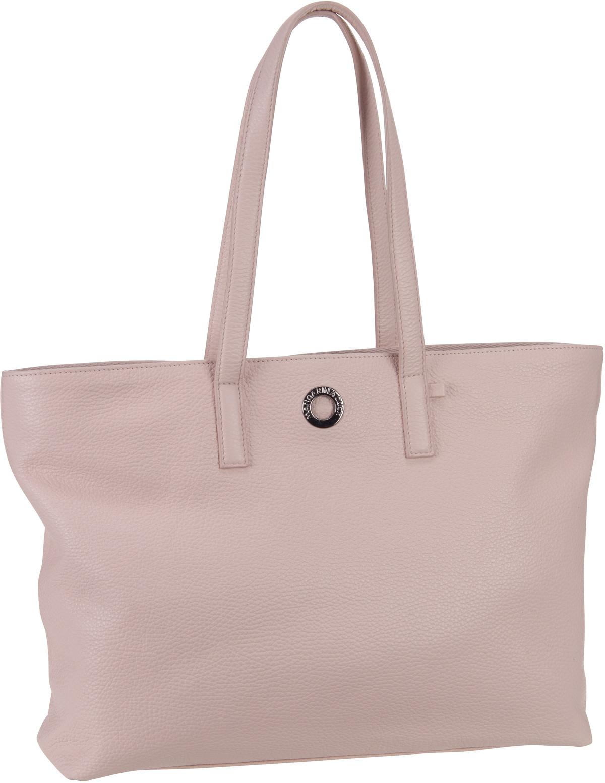 Handtasche Mellow Leather Shopping Bag FZT24 Rose Metal