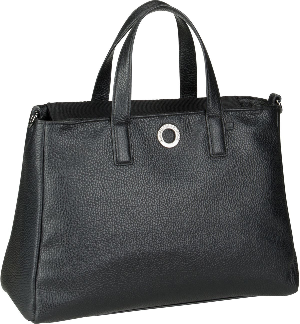 Handtasche Mellow Leather Tote Bag FZT26 Nero