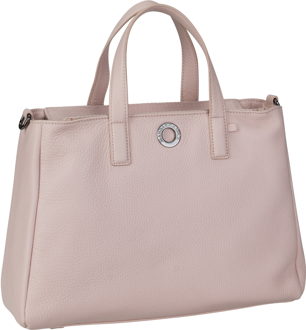 Handtasche Mellow Leather Tote Bag FZT26 Rose Metal