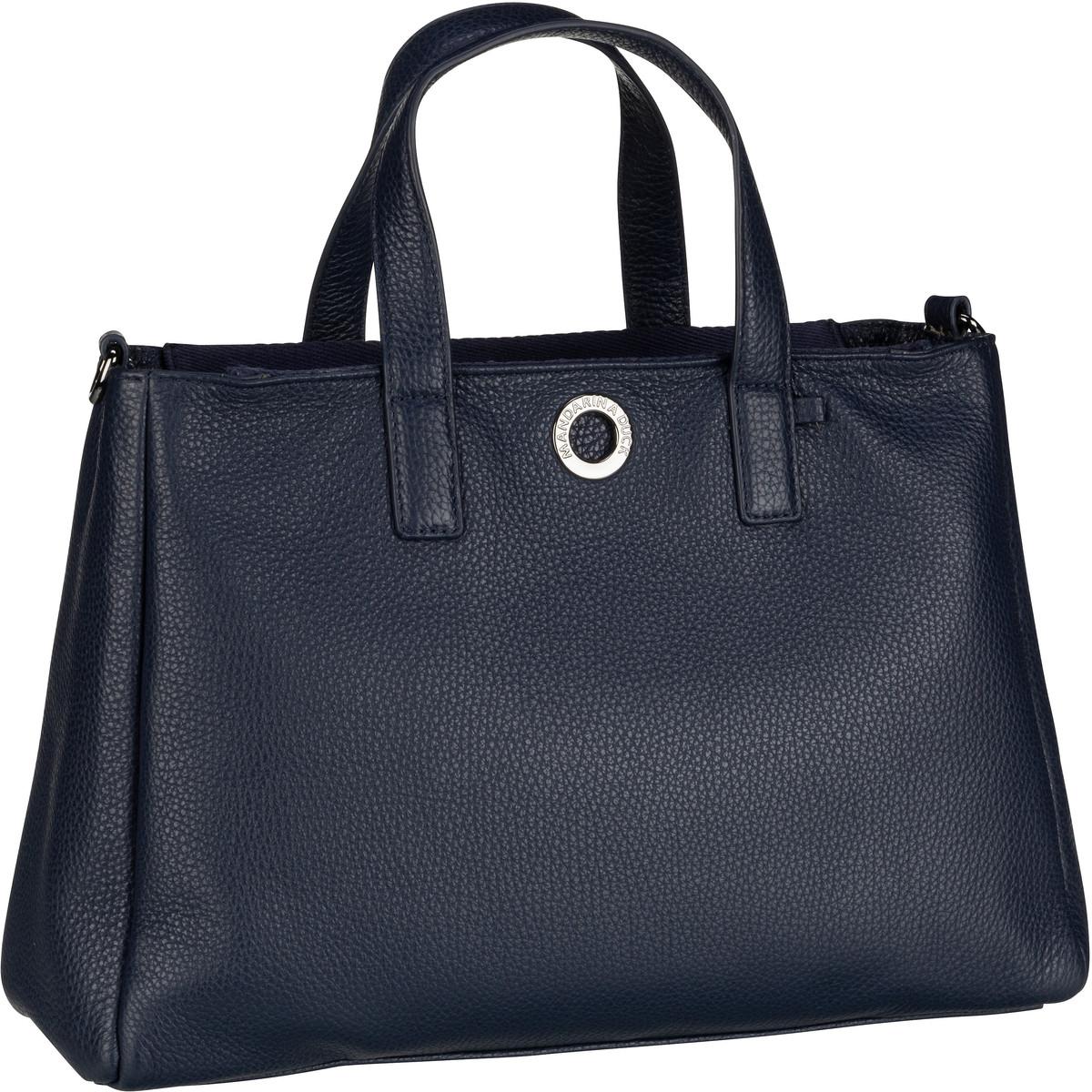 Handtasche Mellow Leather Tote Bag FZT26 Dress Blue