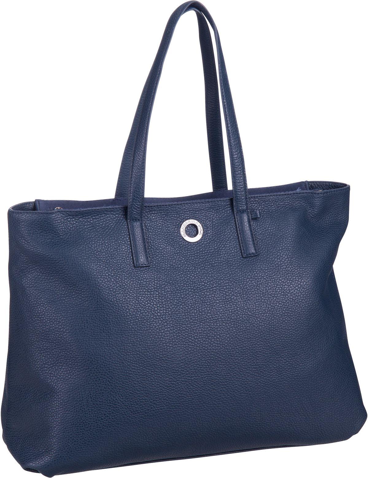 Handtasche Mellow Leather Shopping Bag FZT27 Dress Blue