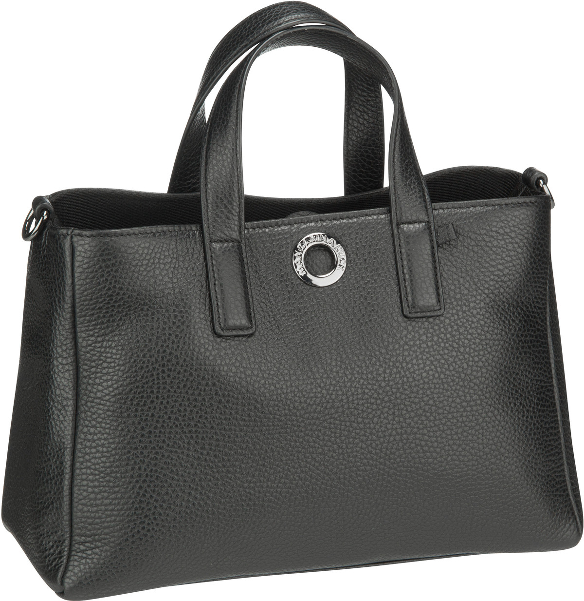 Handtasche Mellow Leather Tote Bag FZT28 Nero