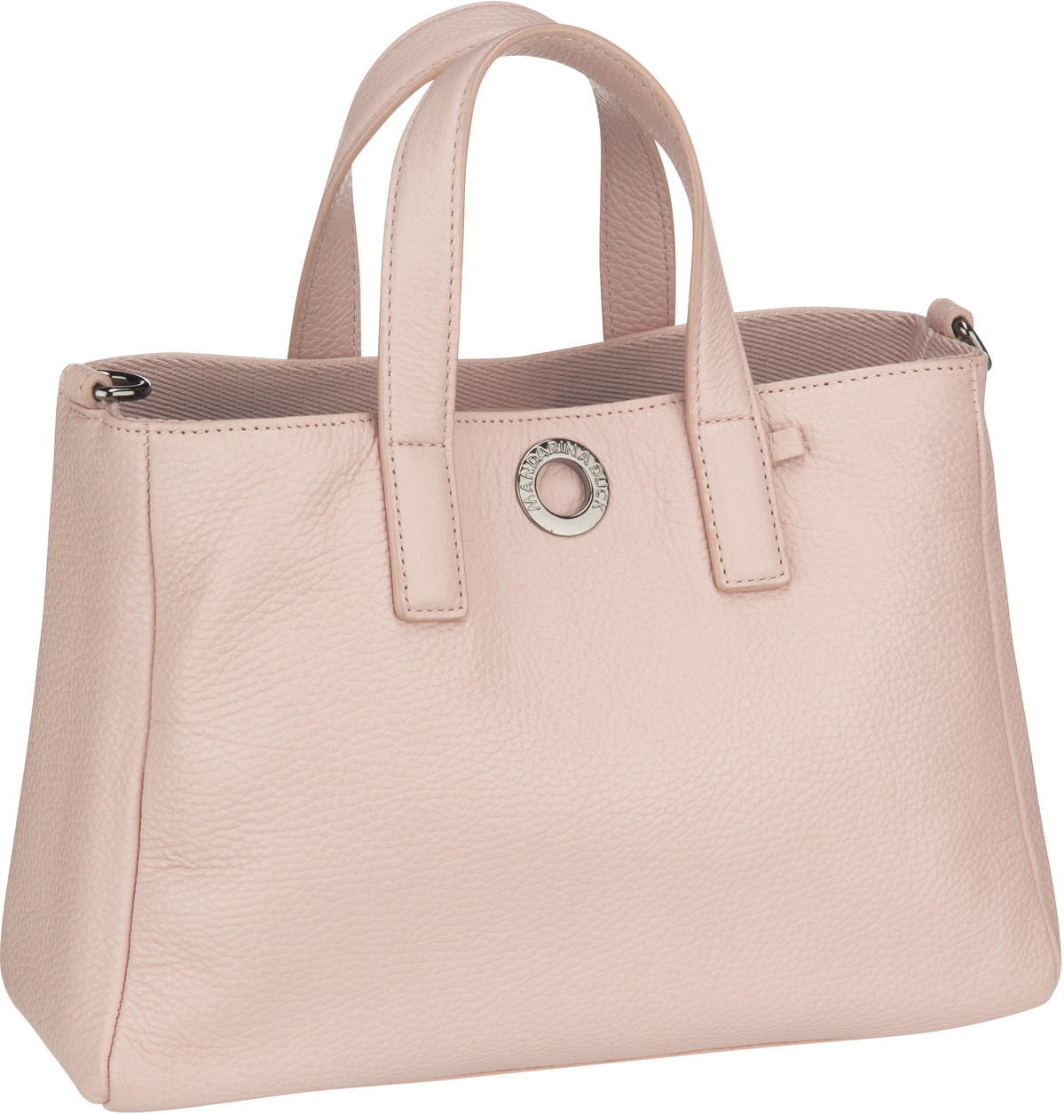 Handtasche Mellow Leather Tote Bag FZT28 Rose Metal