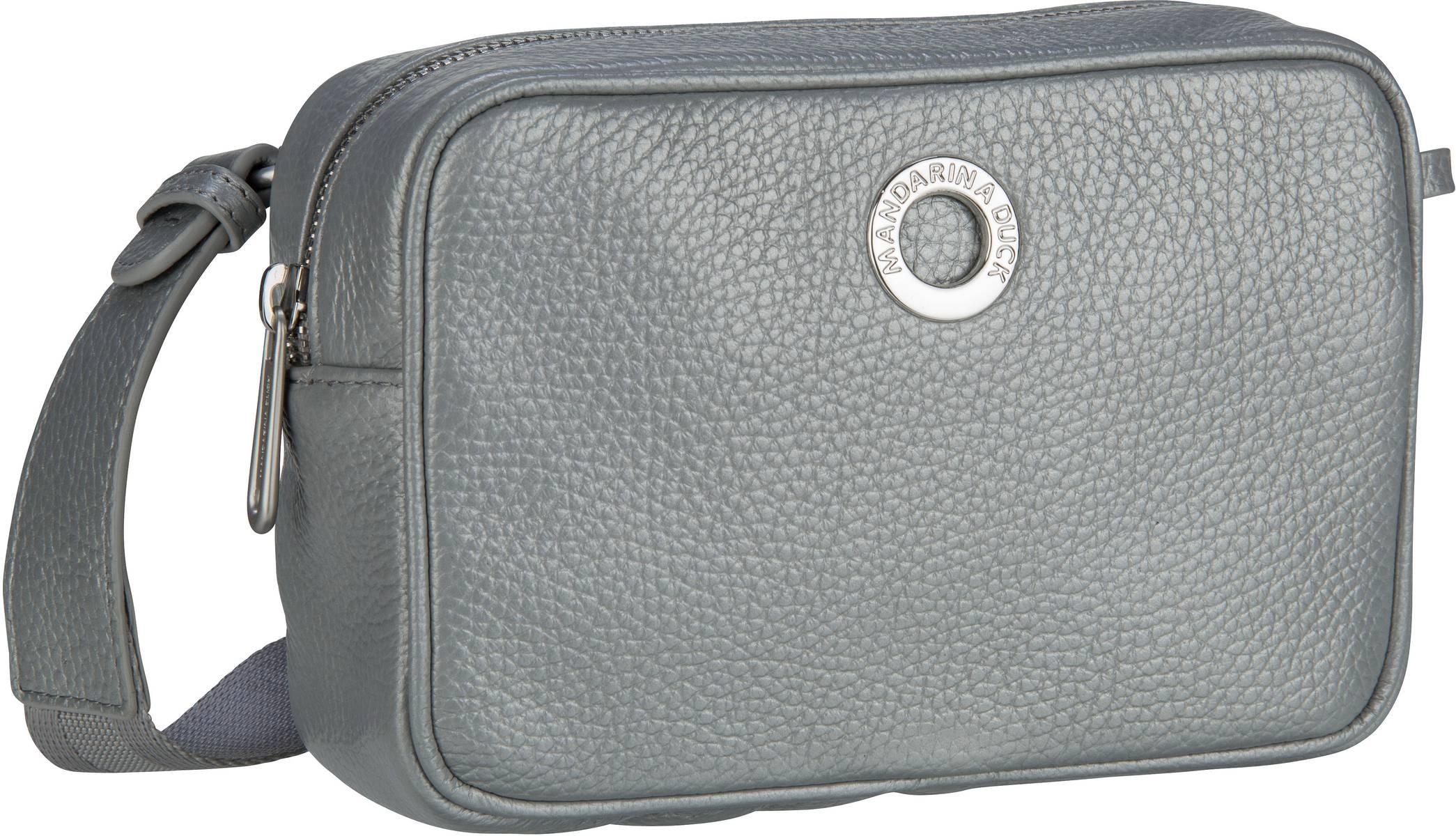 Umhängetasche Mellow Leather Lux Camera Bag ZLT22 Silver