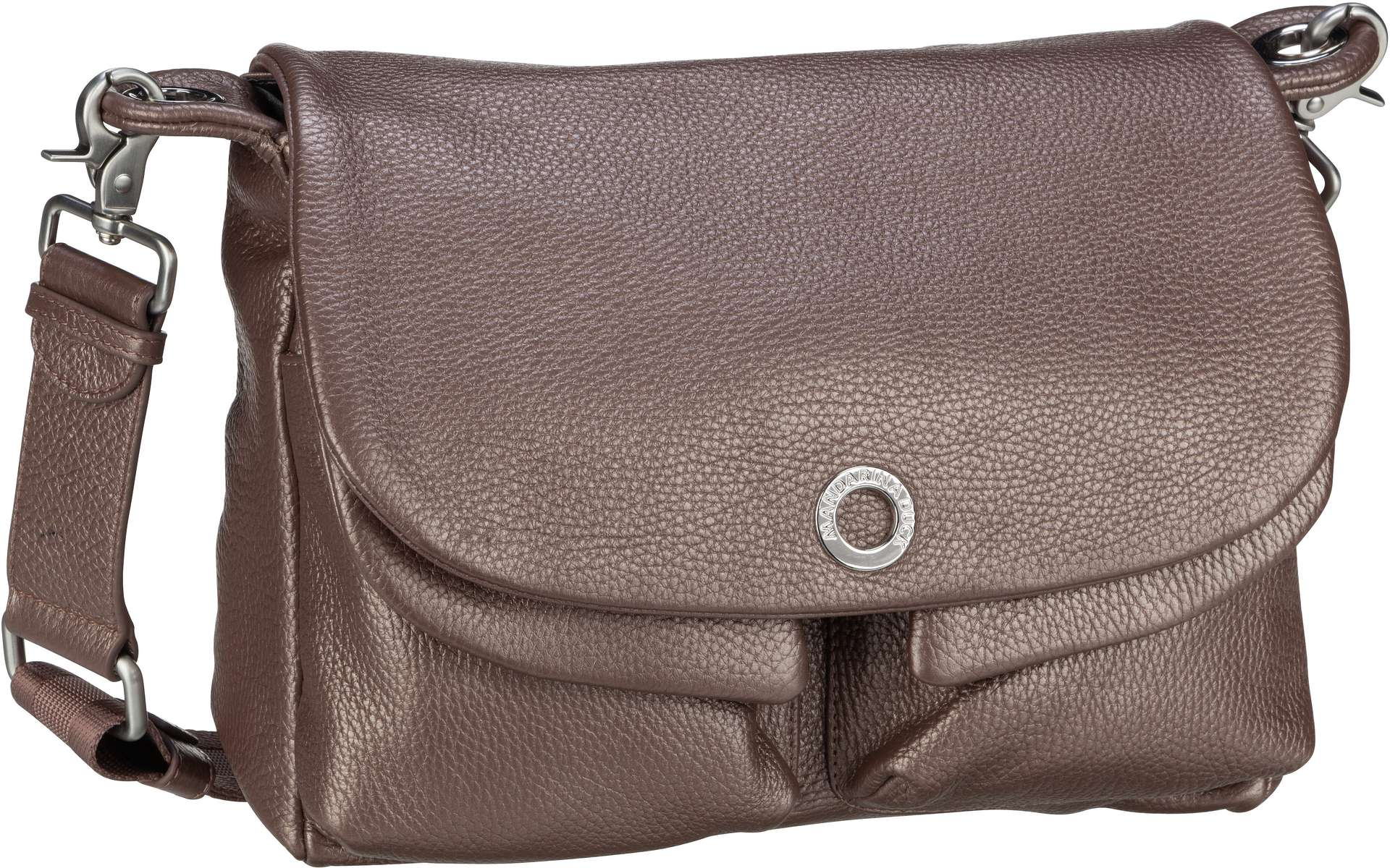 Umhängetasche Mellow Leather Lux Shoulder Bag ZLT23 Smog