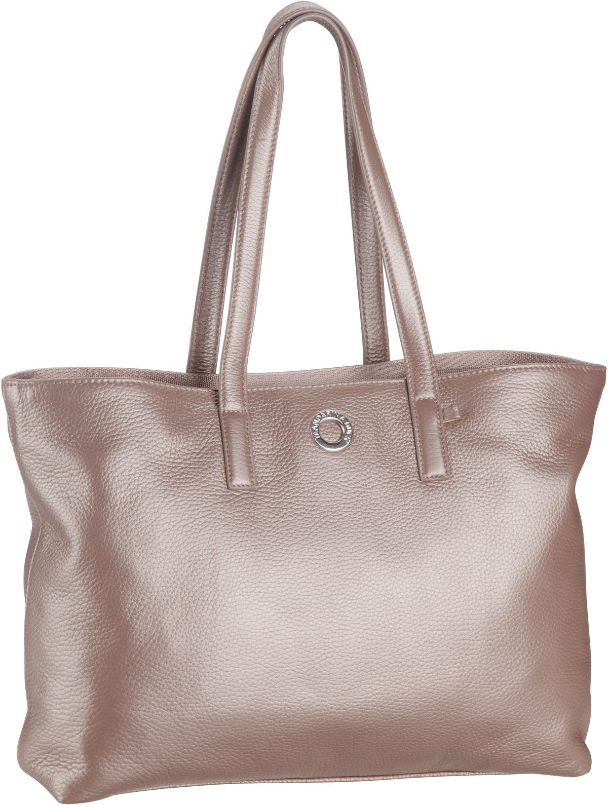 Shopper Mellow Leather Lux Tote Bag ZLT24 Smog