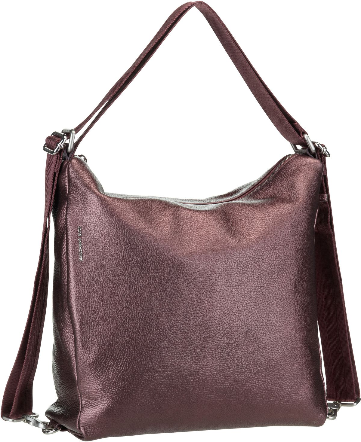 Handtasche Mellow Leather Lux Hobo ZLT72 Blackberry Syrup