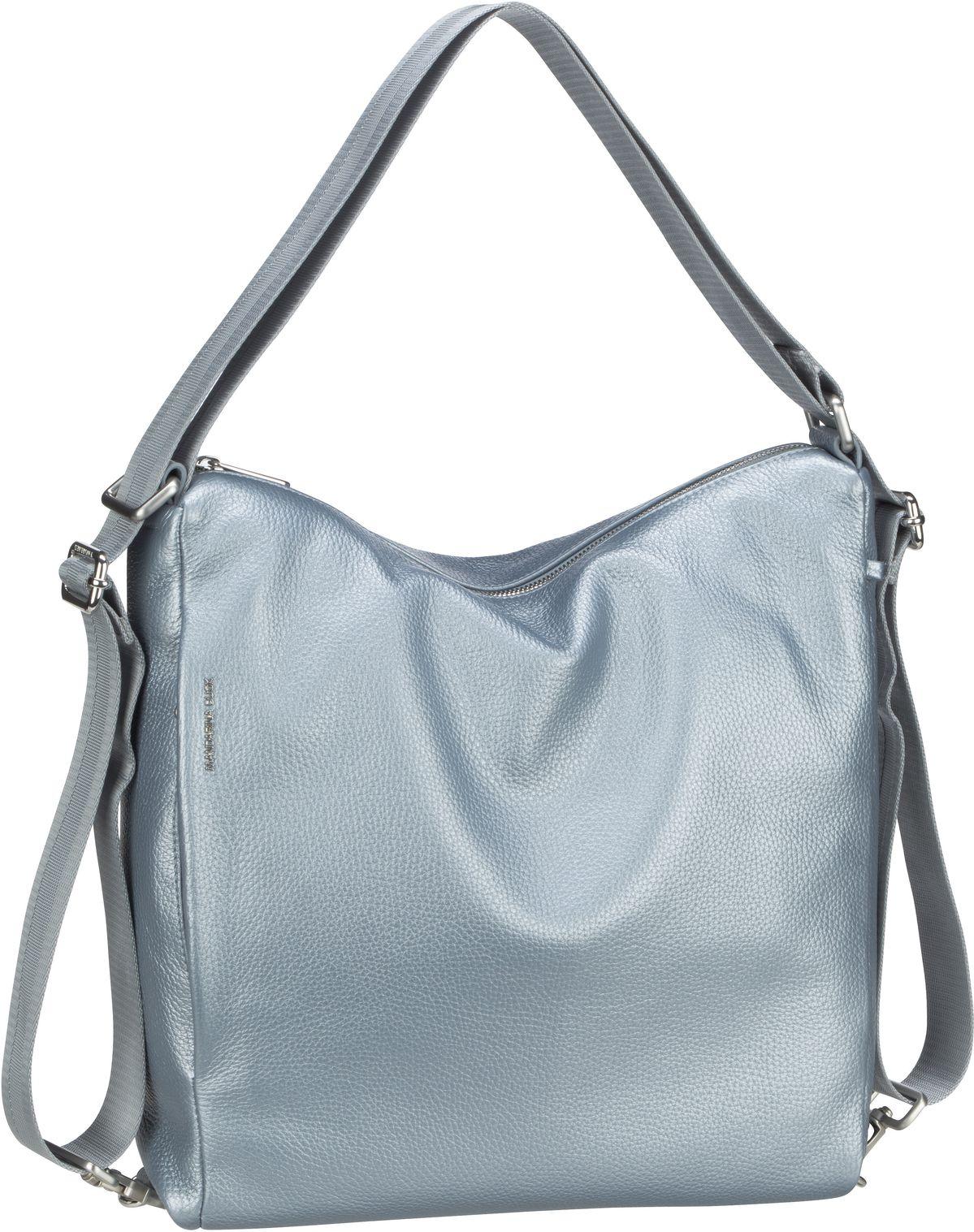 mandarina duck -  Handtasche Mellow Leather Lux Hobo ZLT72 Titanio