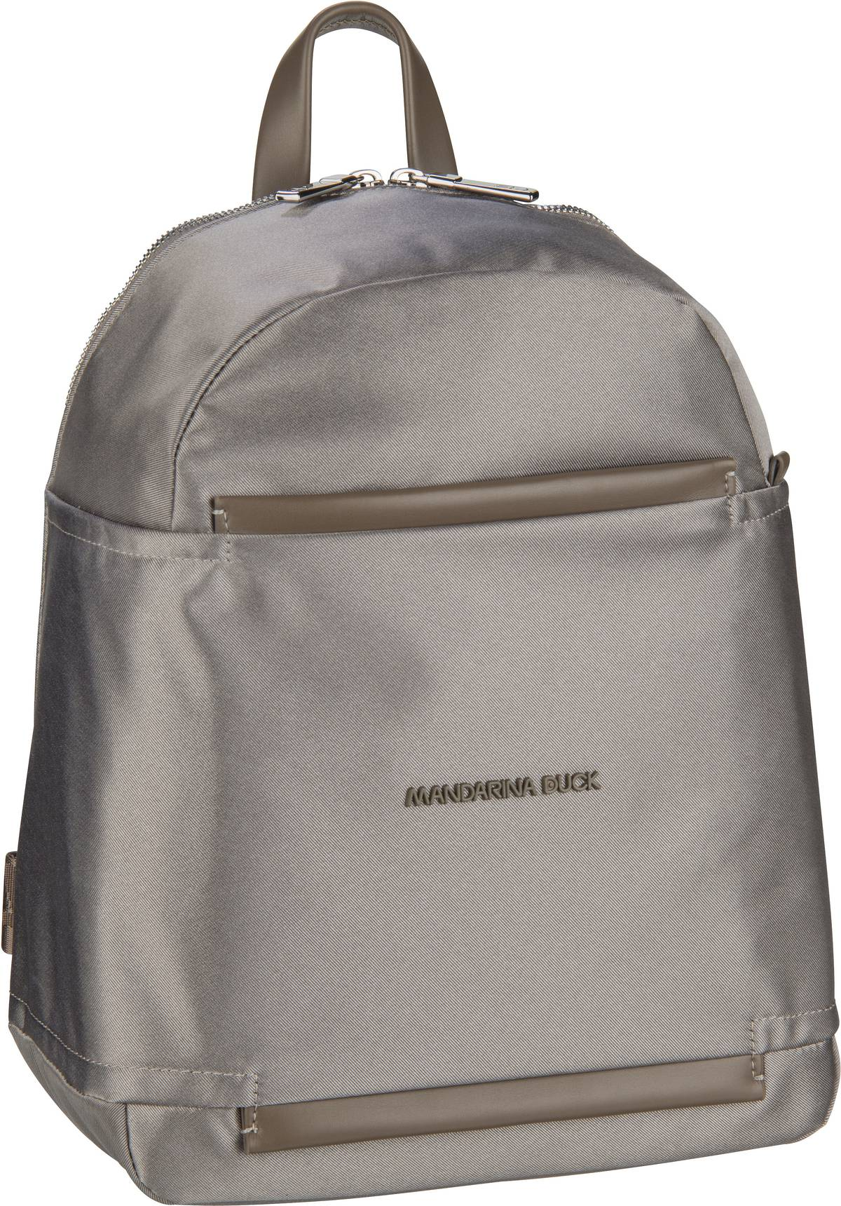 Rucksaecke - Mandarina Duck Rucksack Daypack Daphne Backpack PDT03 Gun Metal  - Onlineshop Taschenkaufhaus
