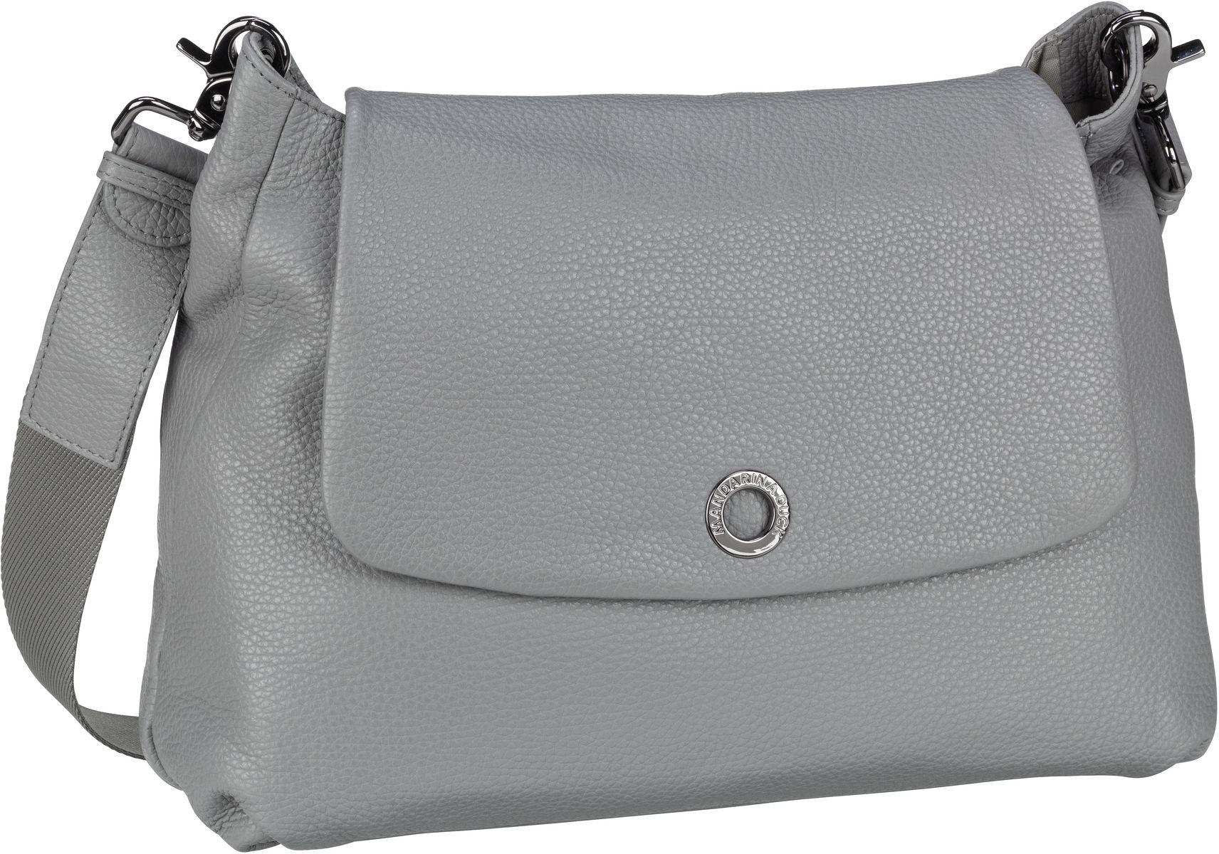 Umhängetasche Mellow Leather Shoulder Bag FZT30 Aluminium
