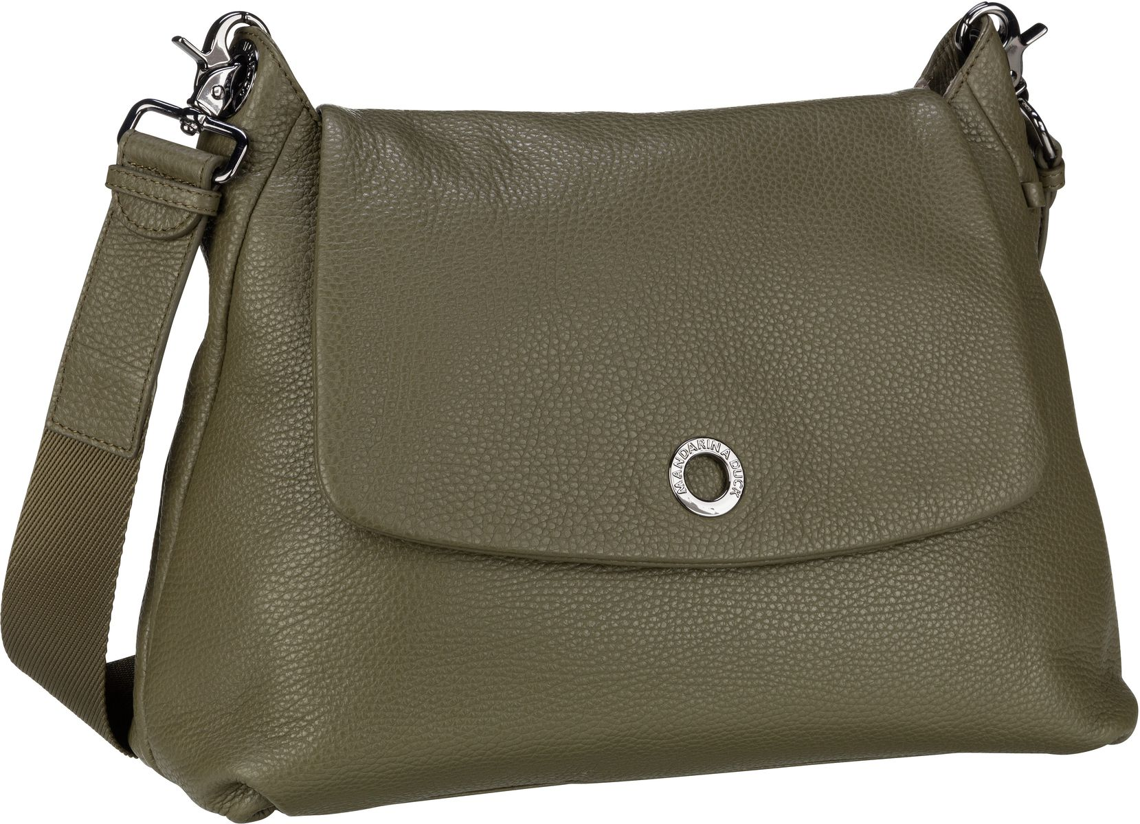 Umhängetasche Mellow Leather Shoulder Bag FZT30 Military Olive