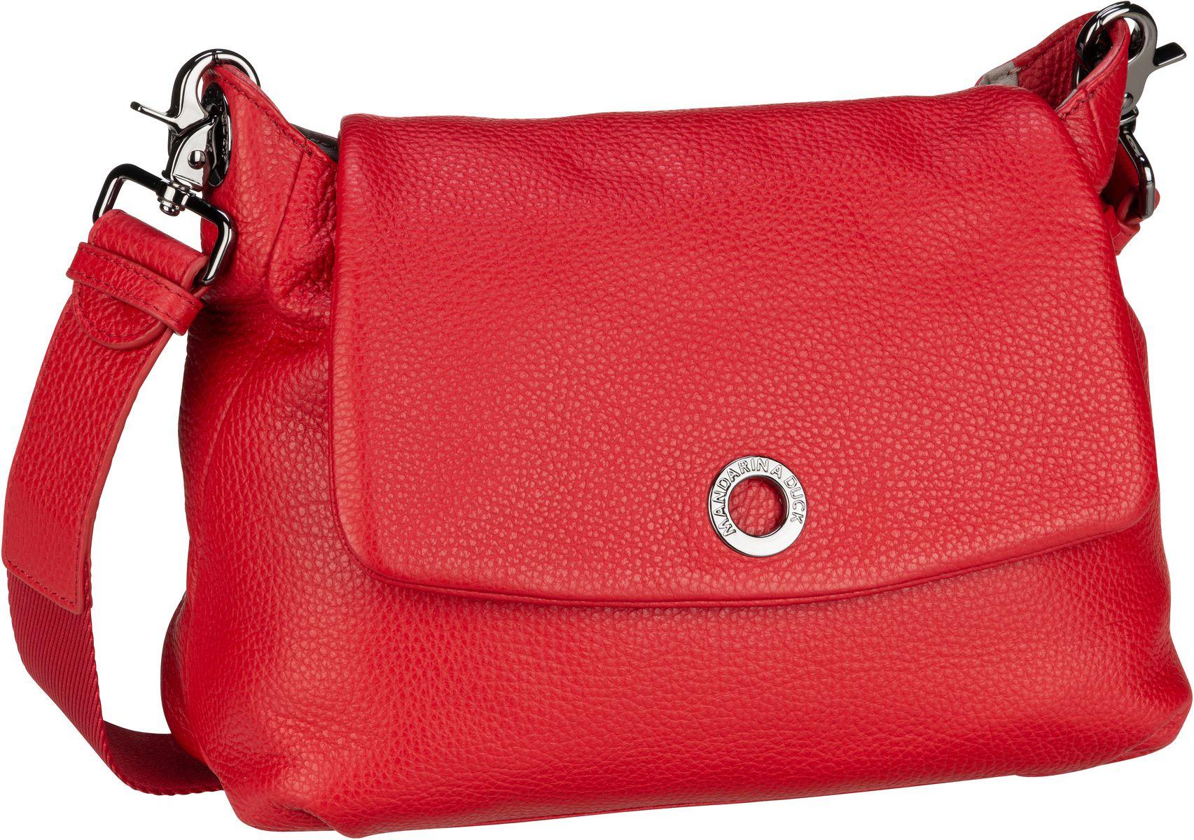 Umhängetasche Mellow Leather Small Shoulder Bag FZT31 Flame Scarlet