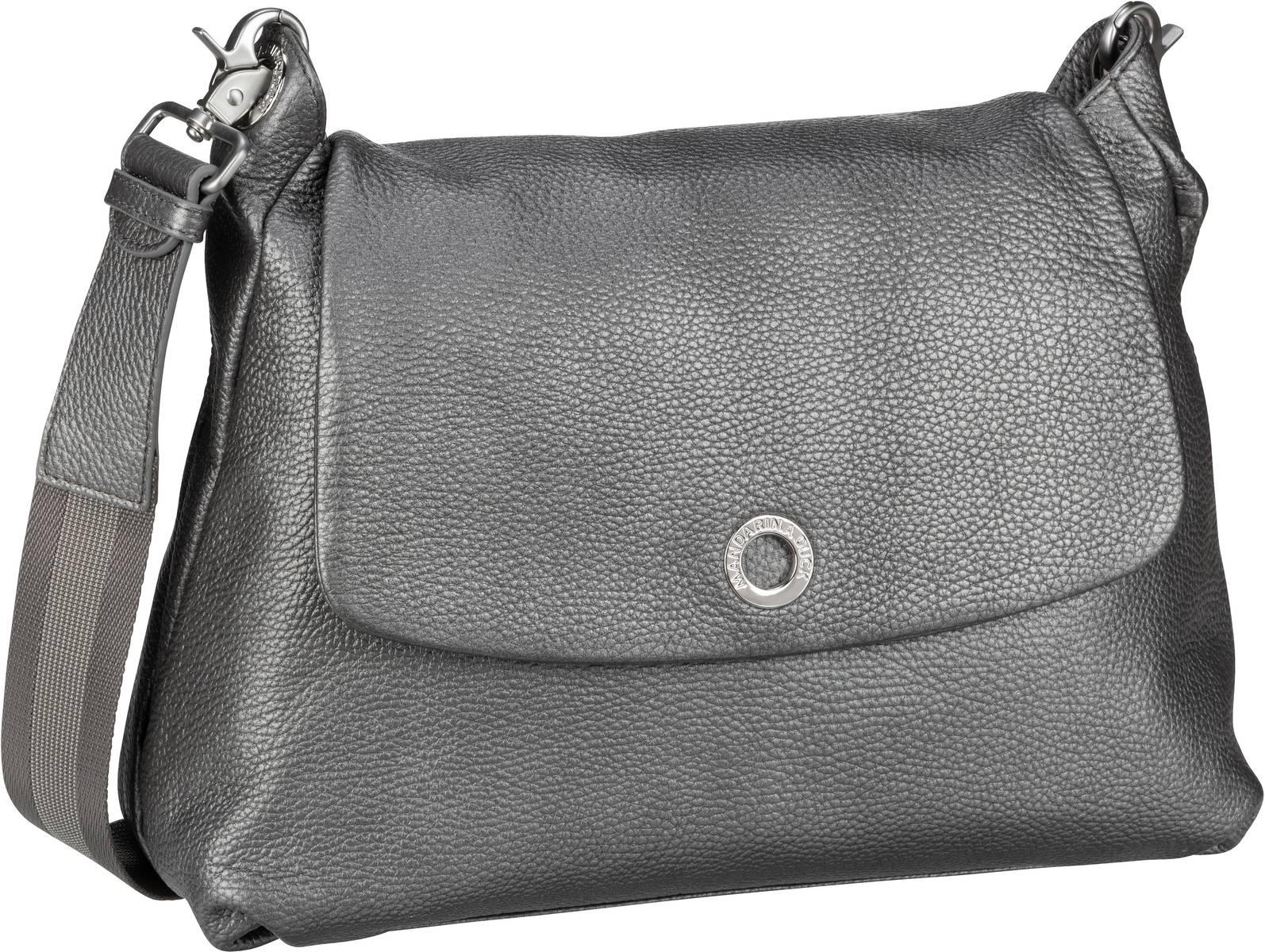 Umhängetasche Mellow Leather Lux Shoulder Bag ZLT30 Lead