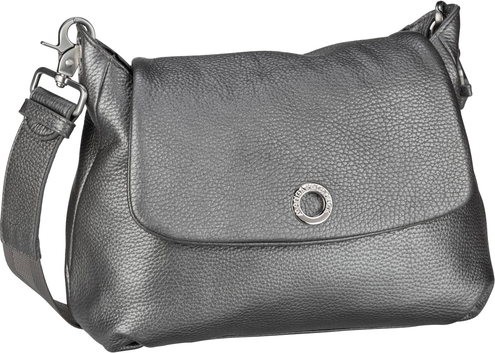 Umhängetasche Mellow Leather Lux Small Shoulder Bag ZLT31 Lead