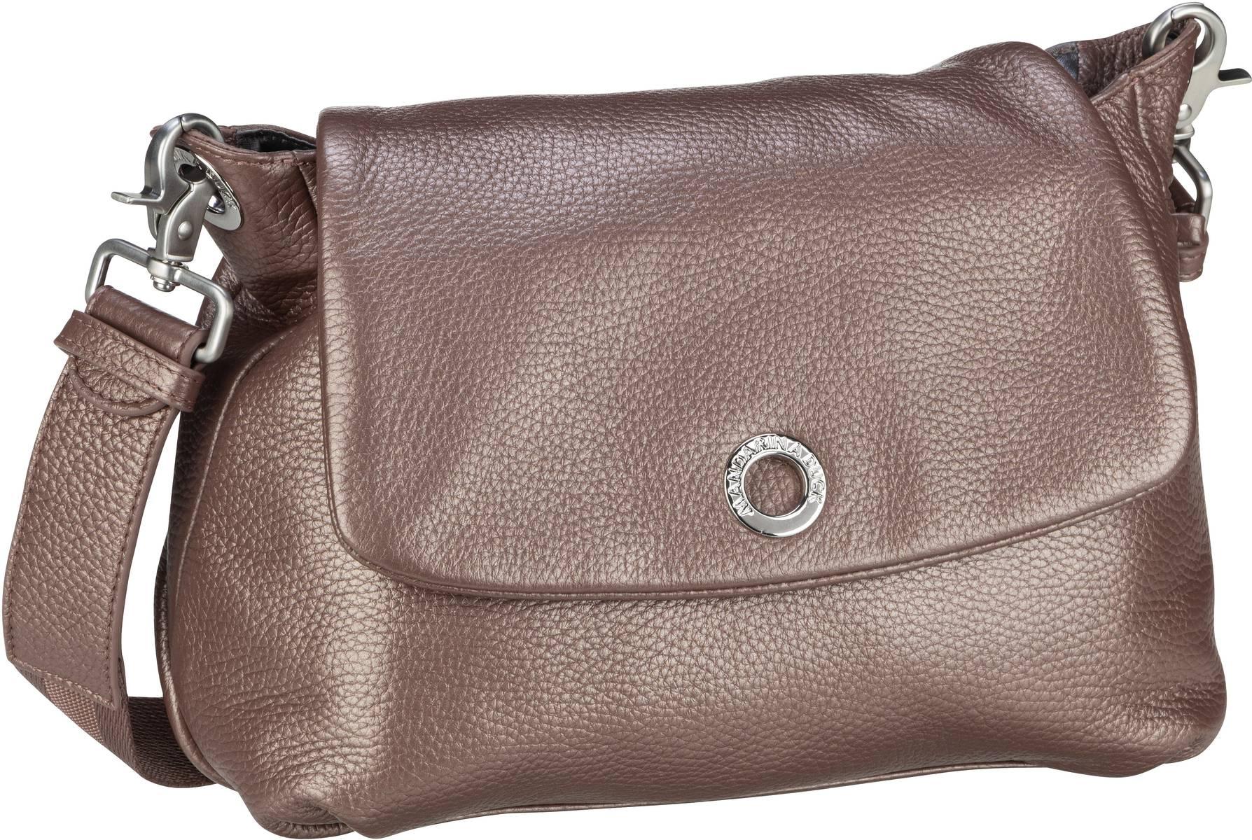 Umhängetasche Mellow Leather Lux Small Shoulder Bag ZLT31 Smog