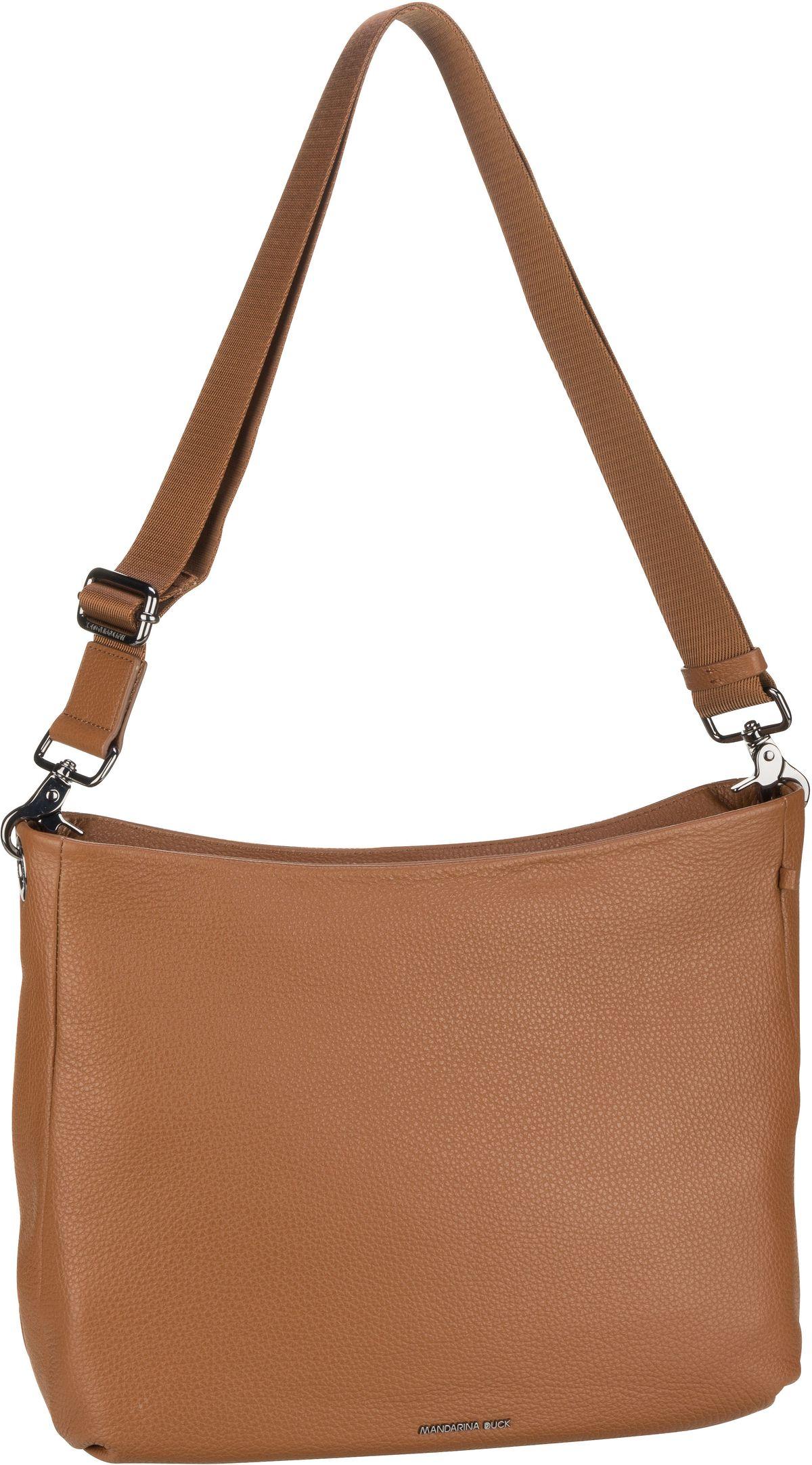 mandarina duck -  Handtasche Mellow Leather Hobo FZT34 Indian Tan