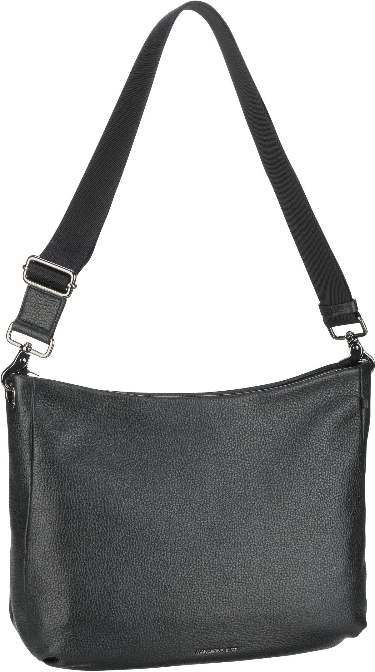 mandarina duck -  Handtasche Mellow Leather Hobo FZT34 Nero