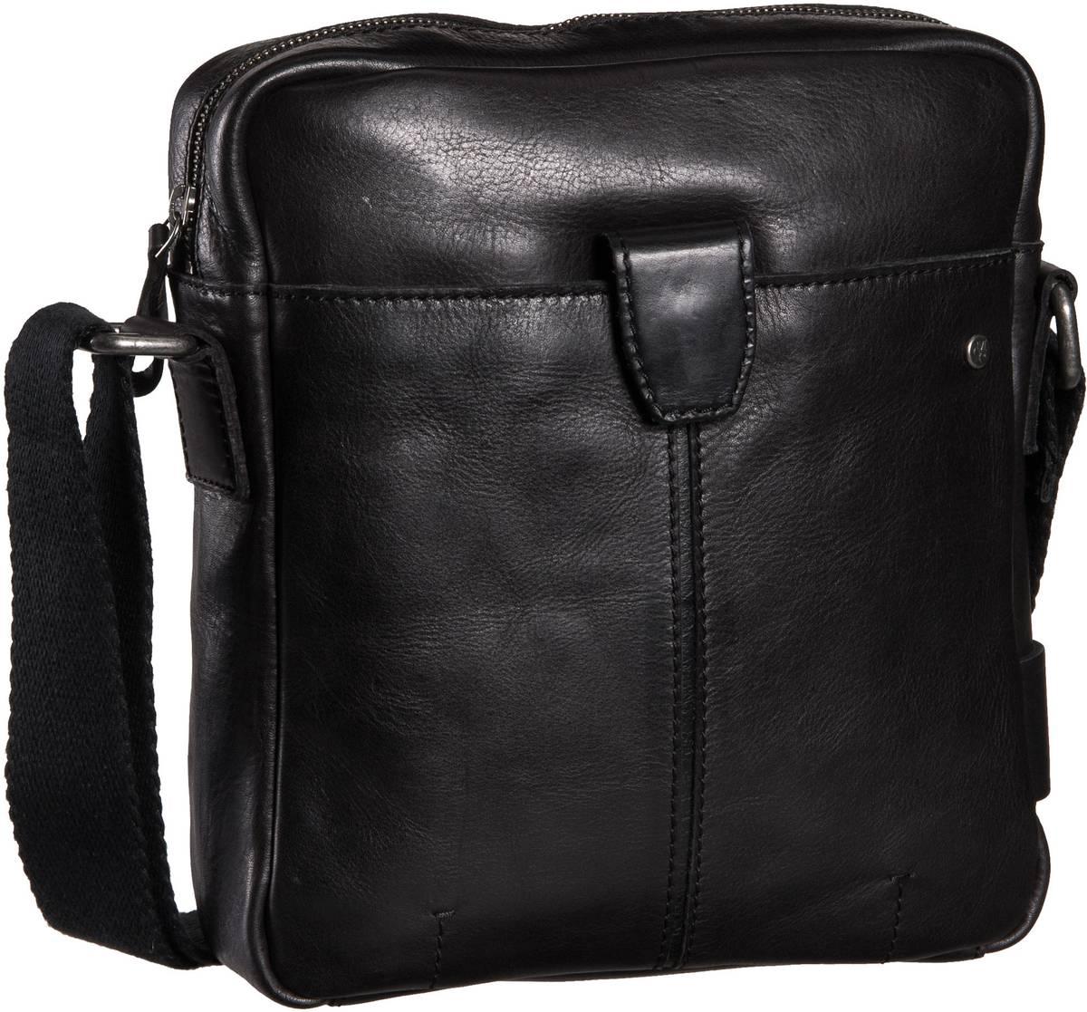 Marc O' Umhängetasche Crossbody Bag M Veg Oily Black