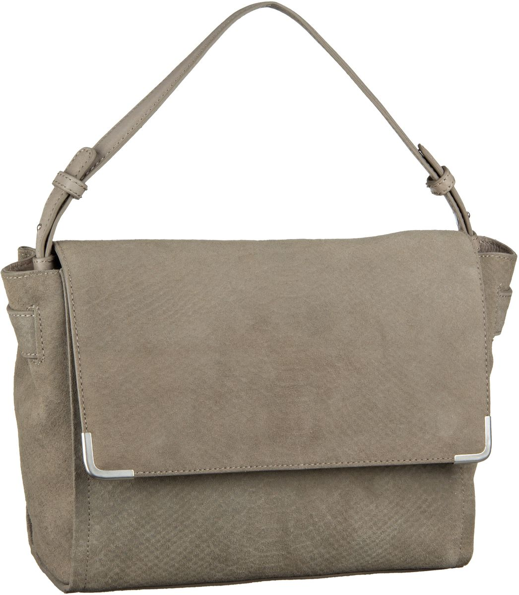 Marc O´Polo Twentyone Metal Edge Debossed Light Grey - Handtasche Sale Angebote Guben