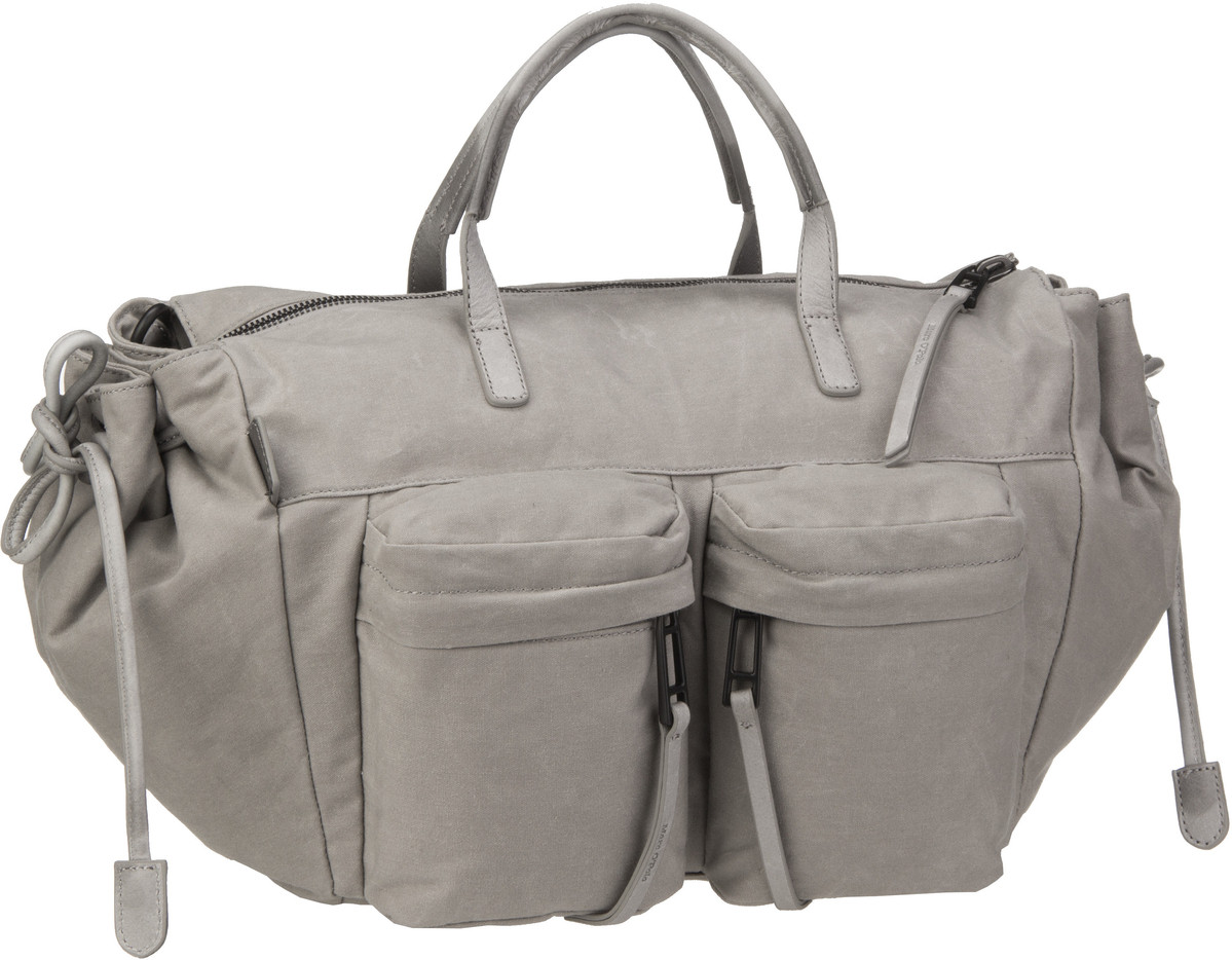 Marc O´Polo Twentyfour Waxed Canvas Light Grey - Handtasche Sale Angebote Guteborn
