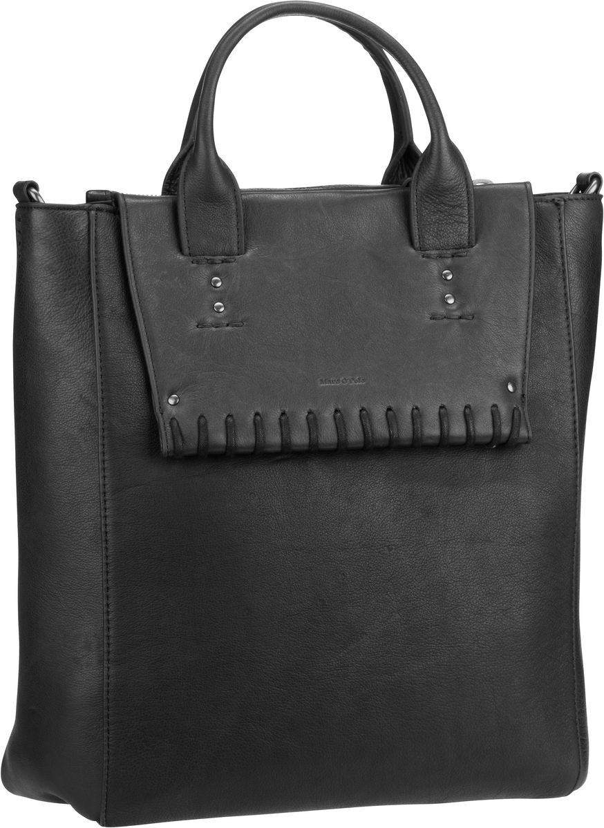 Marc O´Polo Thirty Scandic Stitch Washed Black - Handtasche Sale Angebote Hohenbocka