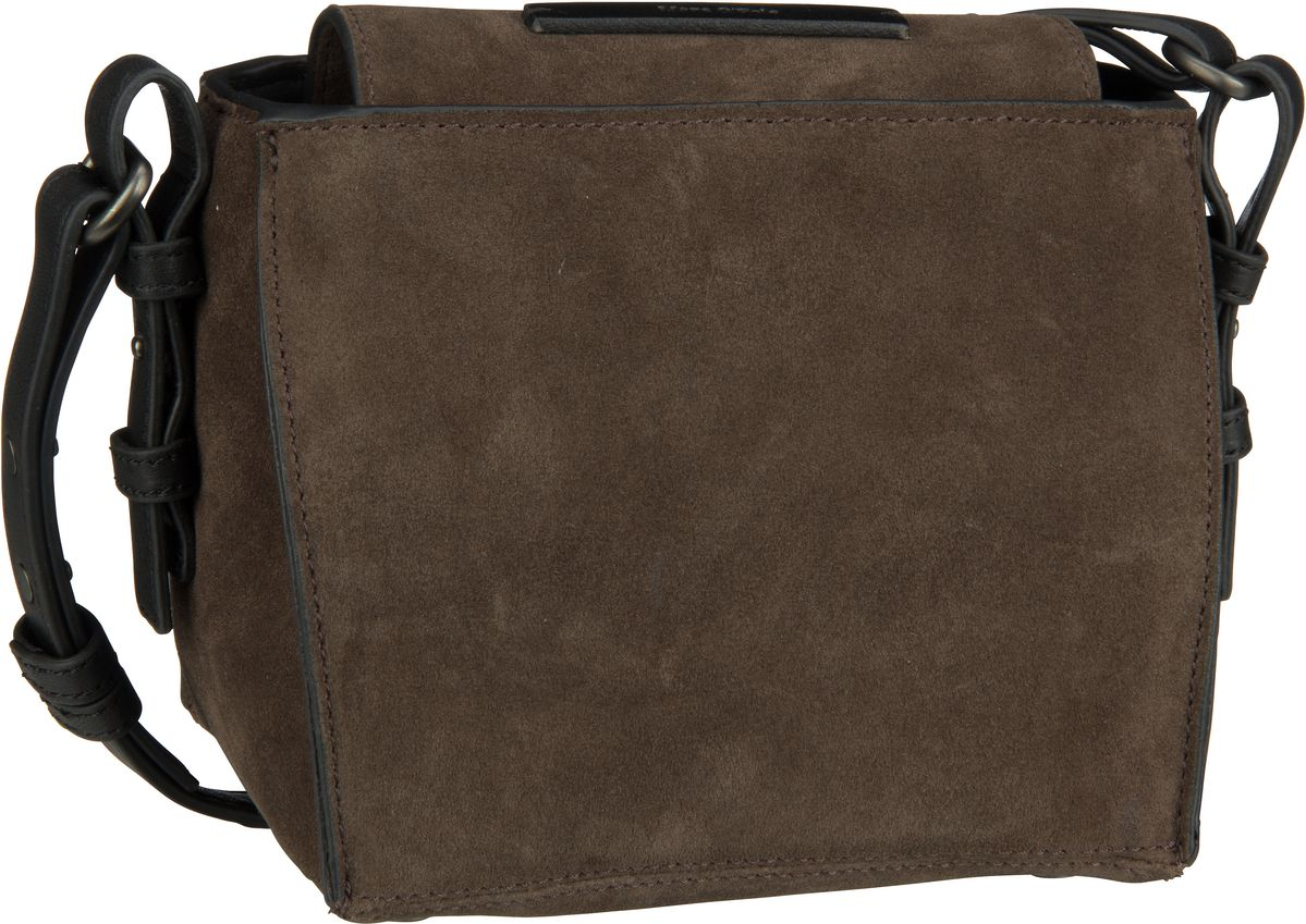Thirtysix Cube Luxury Suede Dark Brown